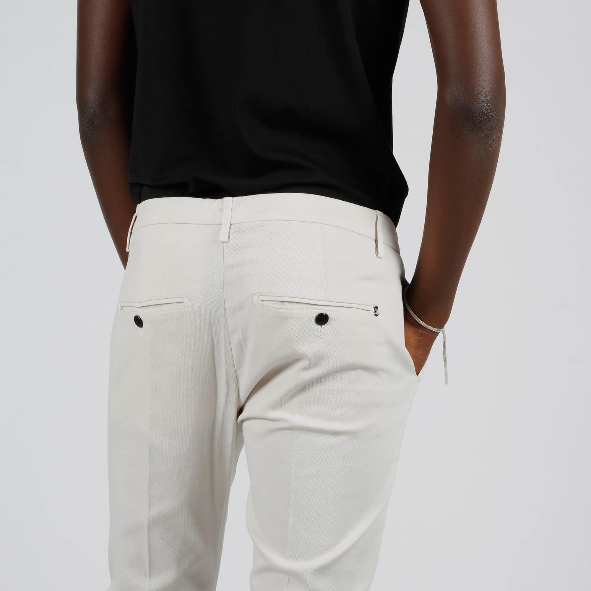 Pantalone gaubert slim - Bianco