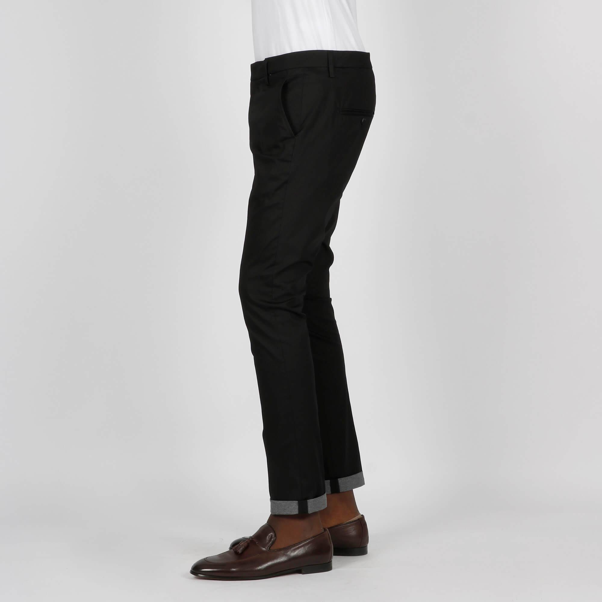 Pantalone gaubert tasca america- Nero