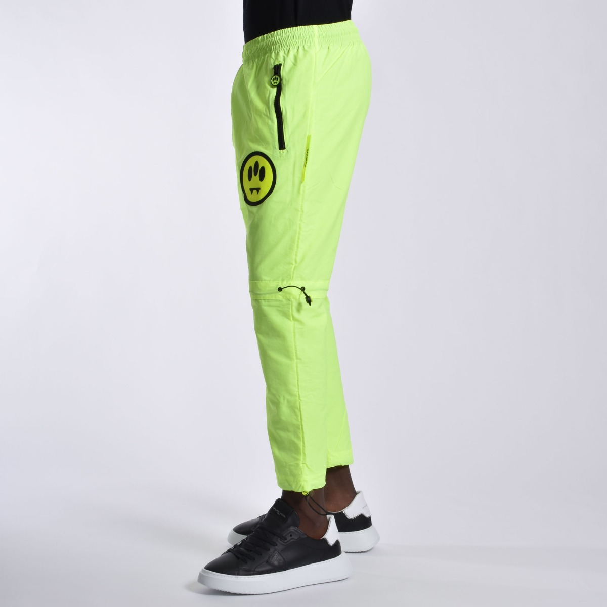 Pantalone inserti fluo- Giallo fluo