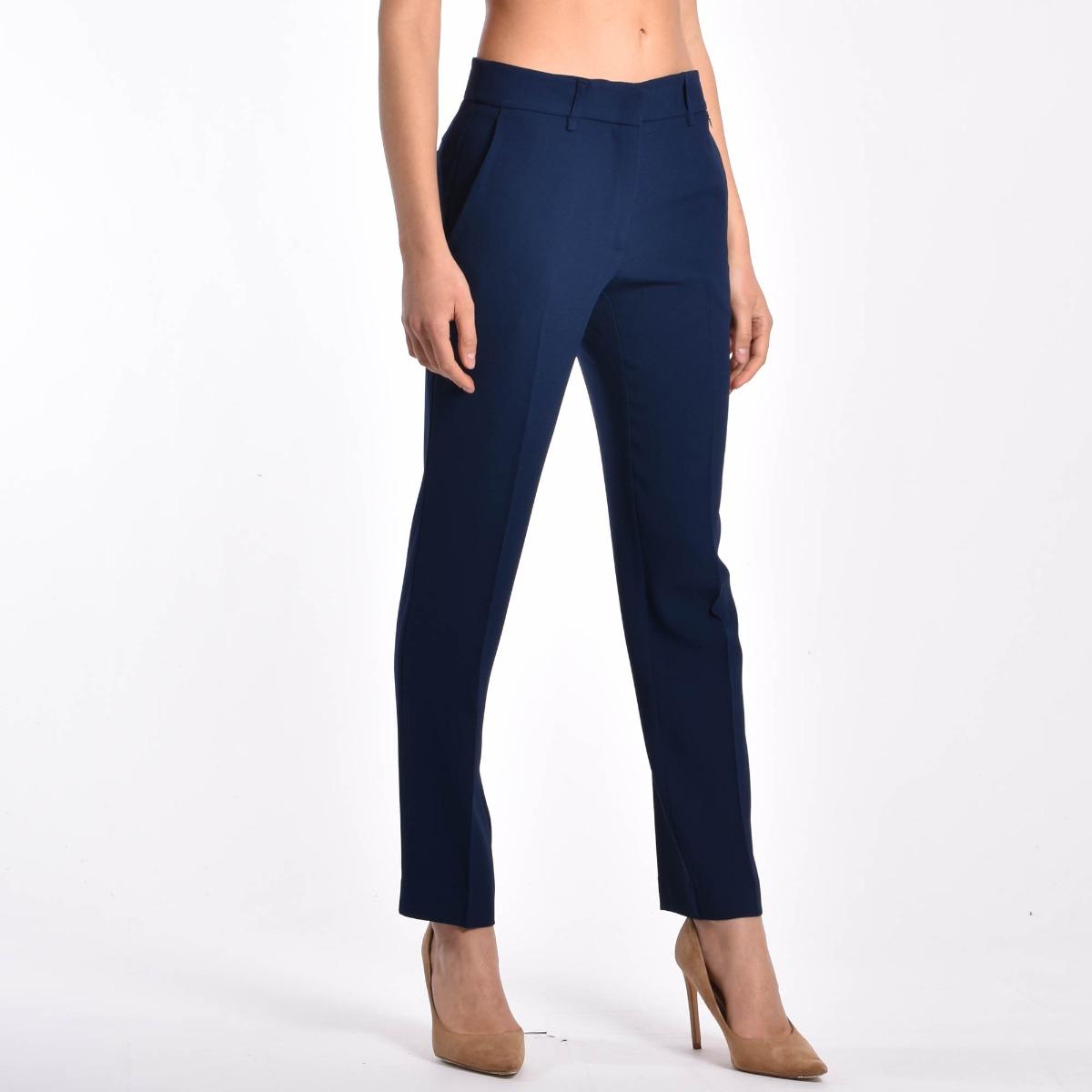 Pantalone sigaretta- Blu