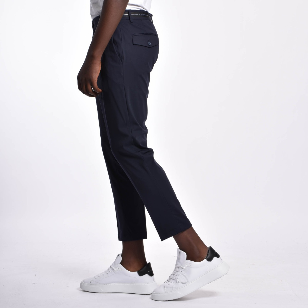 Pantaloni fascia logo - Blu