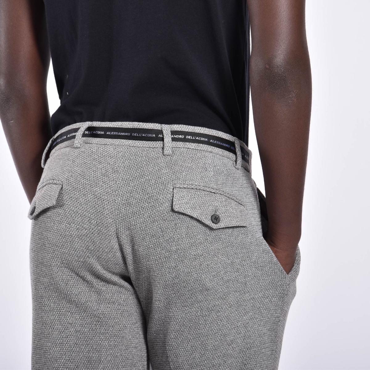 Pantaloni micro fantasia - Grigio