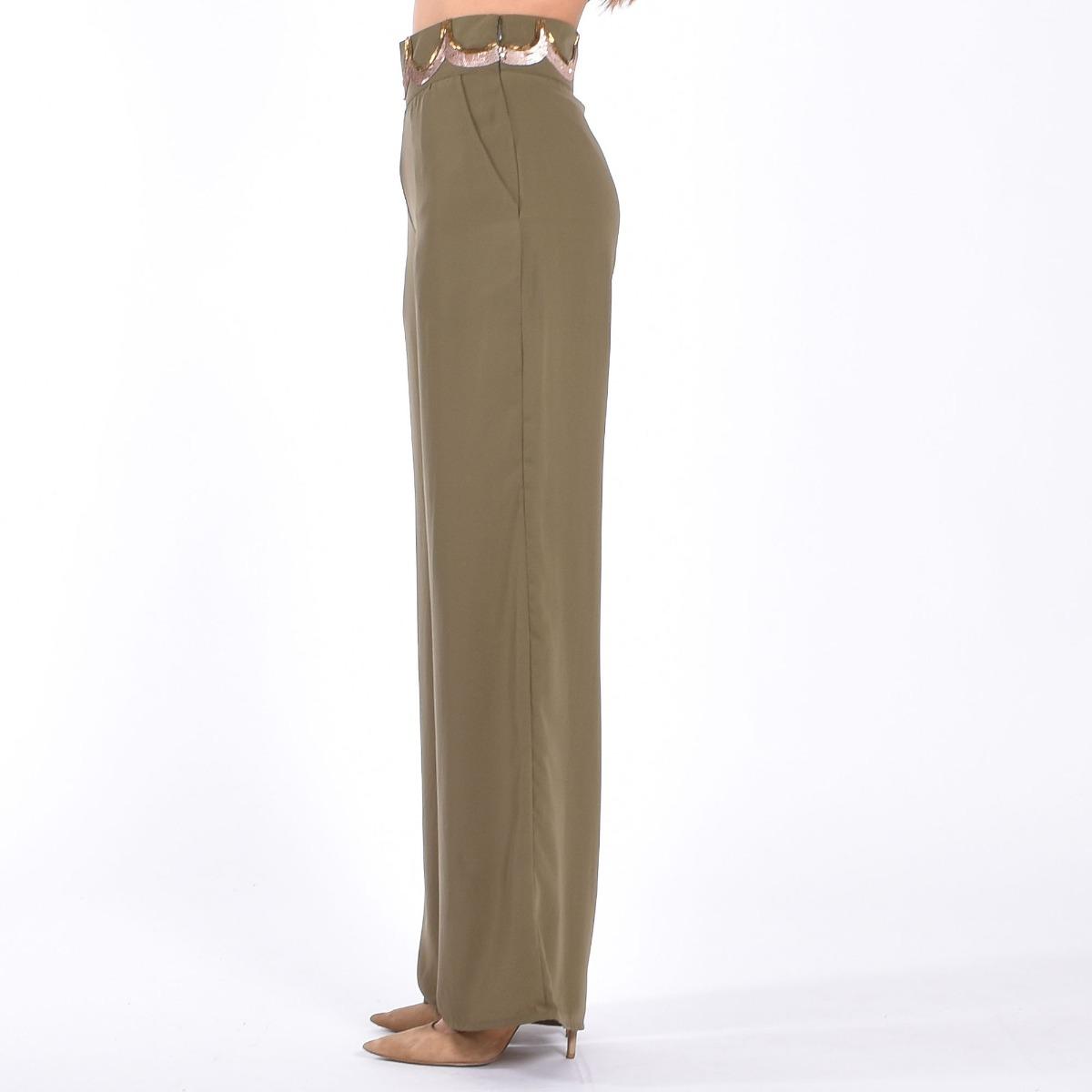 Pantalone morbido - Verde