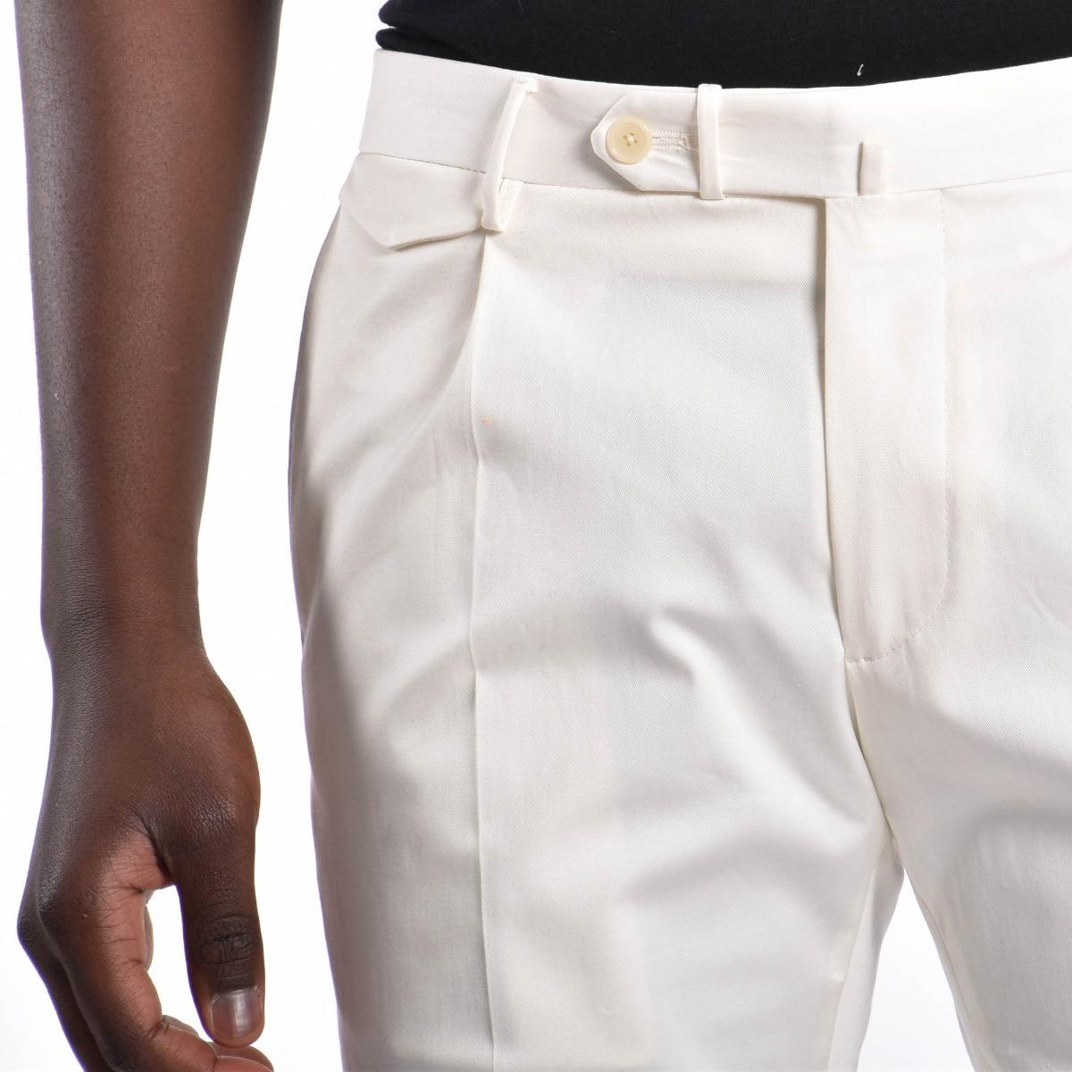 Pantalone pattina - Bianco