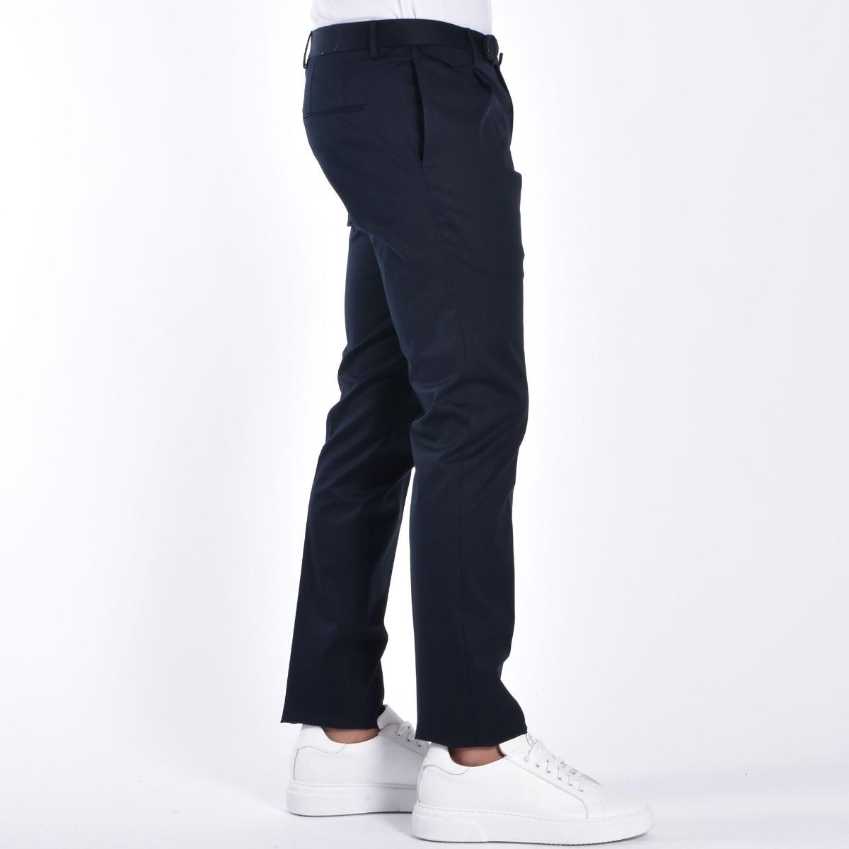 Pantalone pattina e pences - Blu