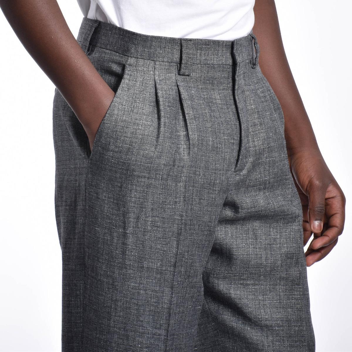 Pantalone pences - Grigio