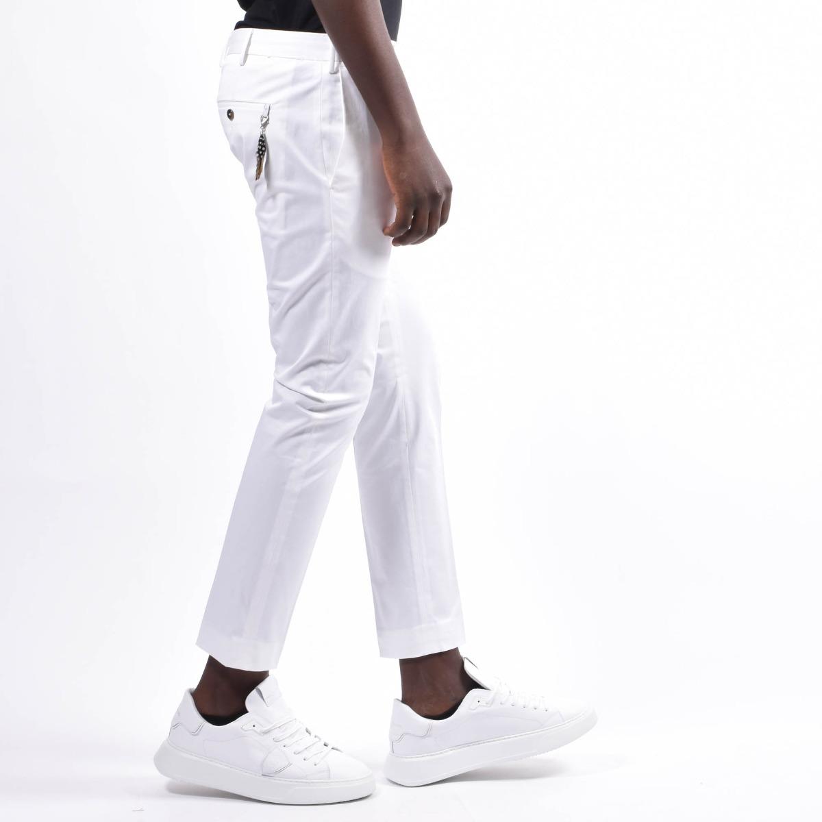 Pantalone pendente piuma - Bianco