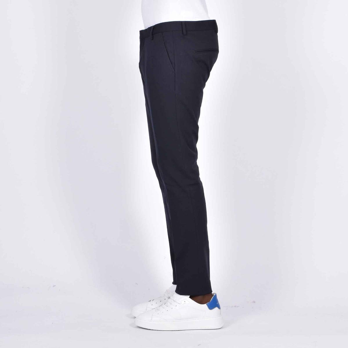 Pantalone tasca america milano- Blu notte