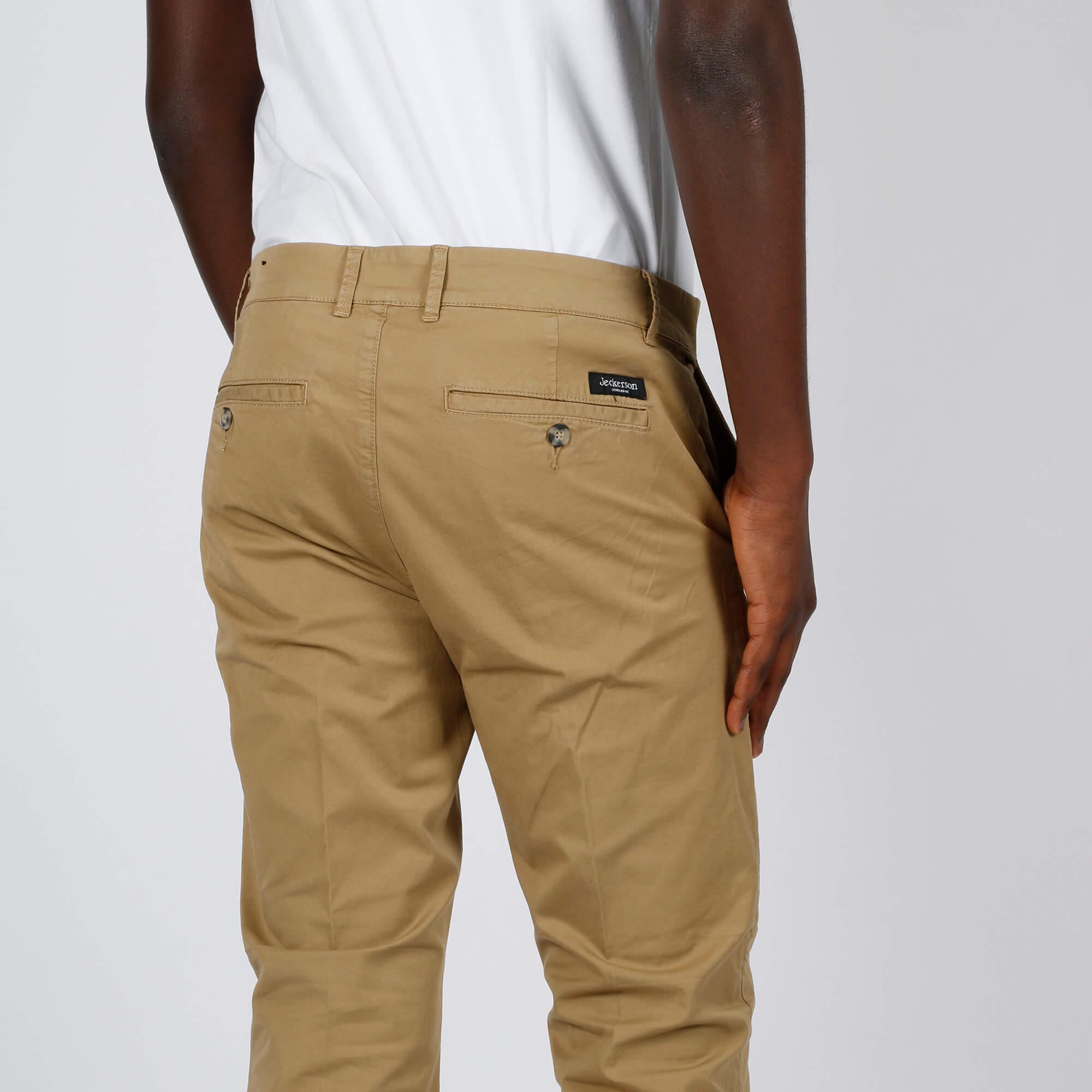 Pantalone ankle chino slim - Sabbia