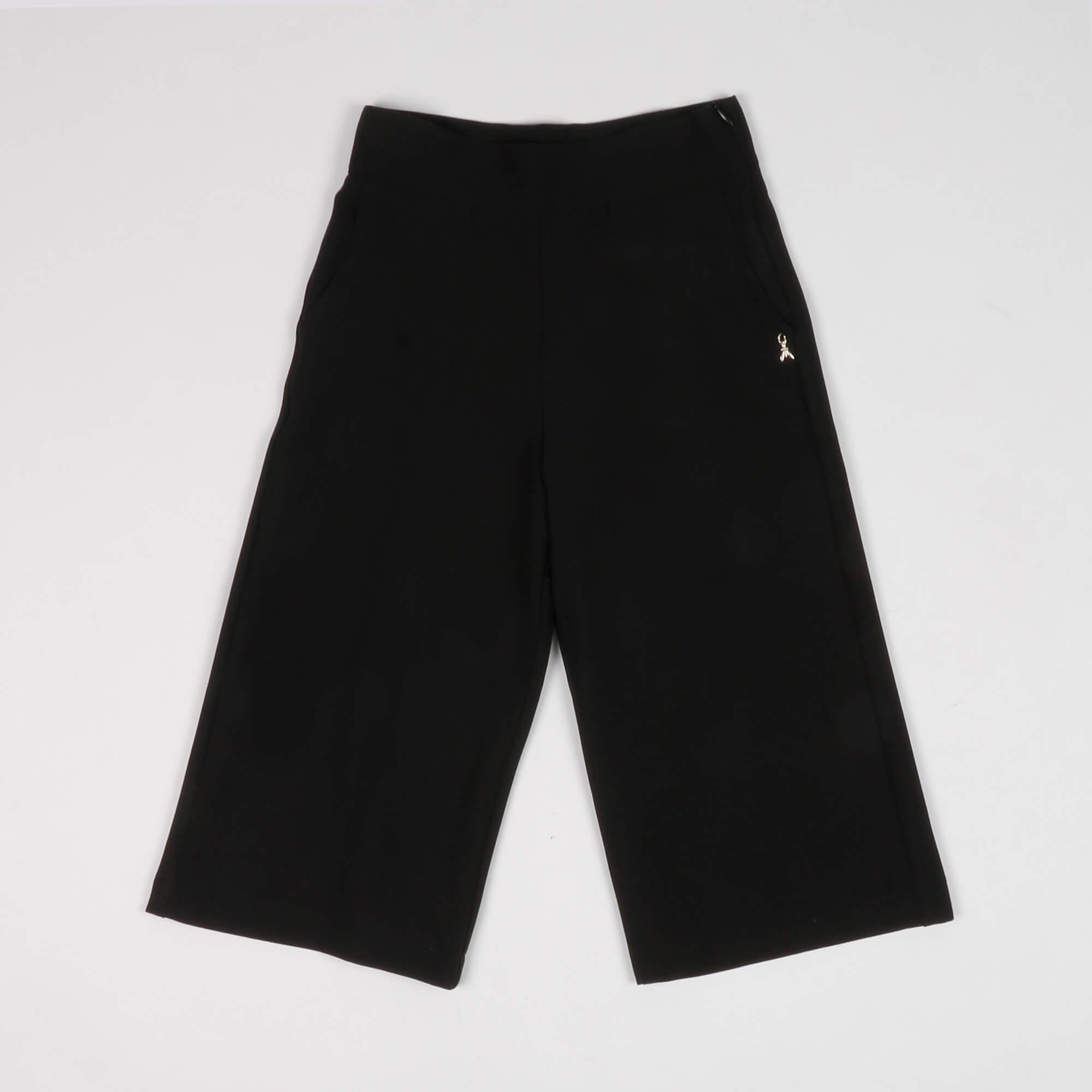 Pantalone sablè- Nero
