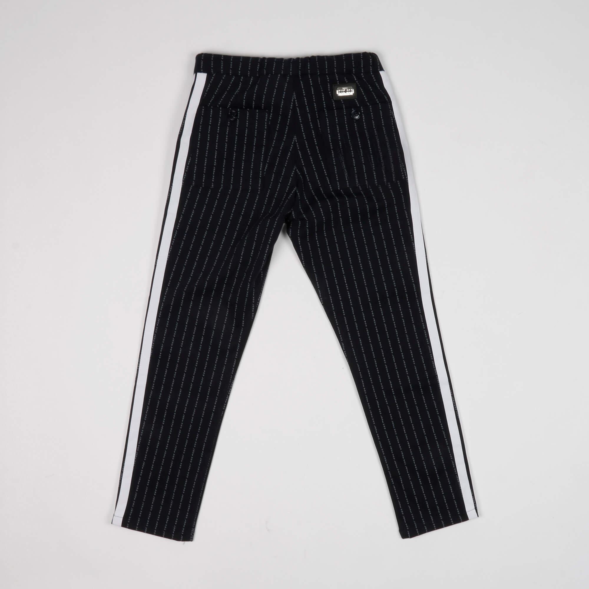 Pantalone all over scritte - Blu