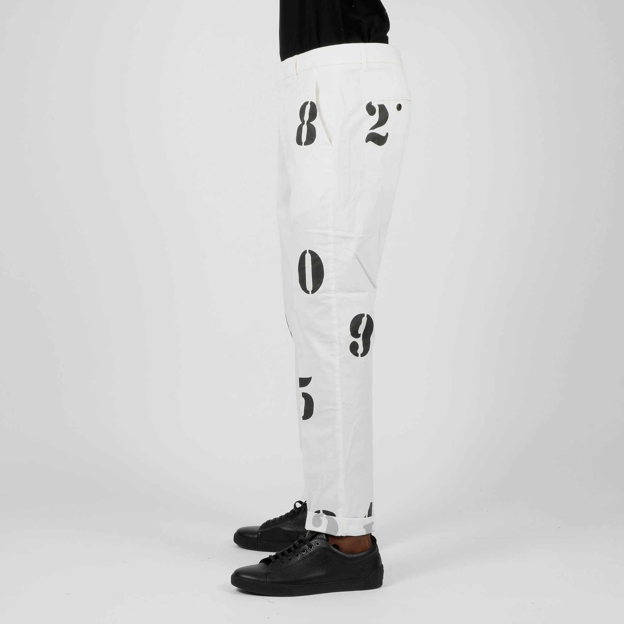 Pantalone president chino - Bianco