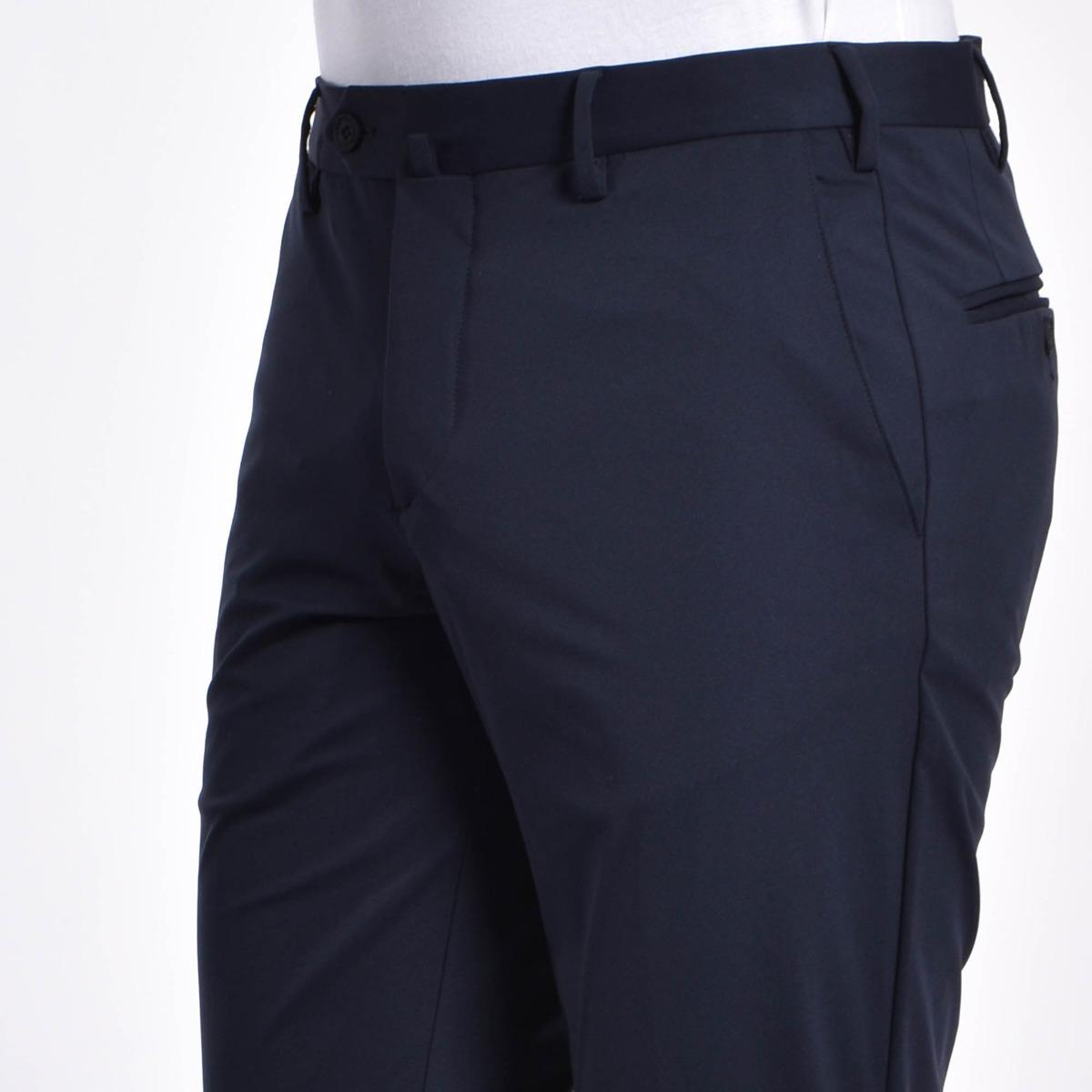 Pantalone stretch - Blu