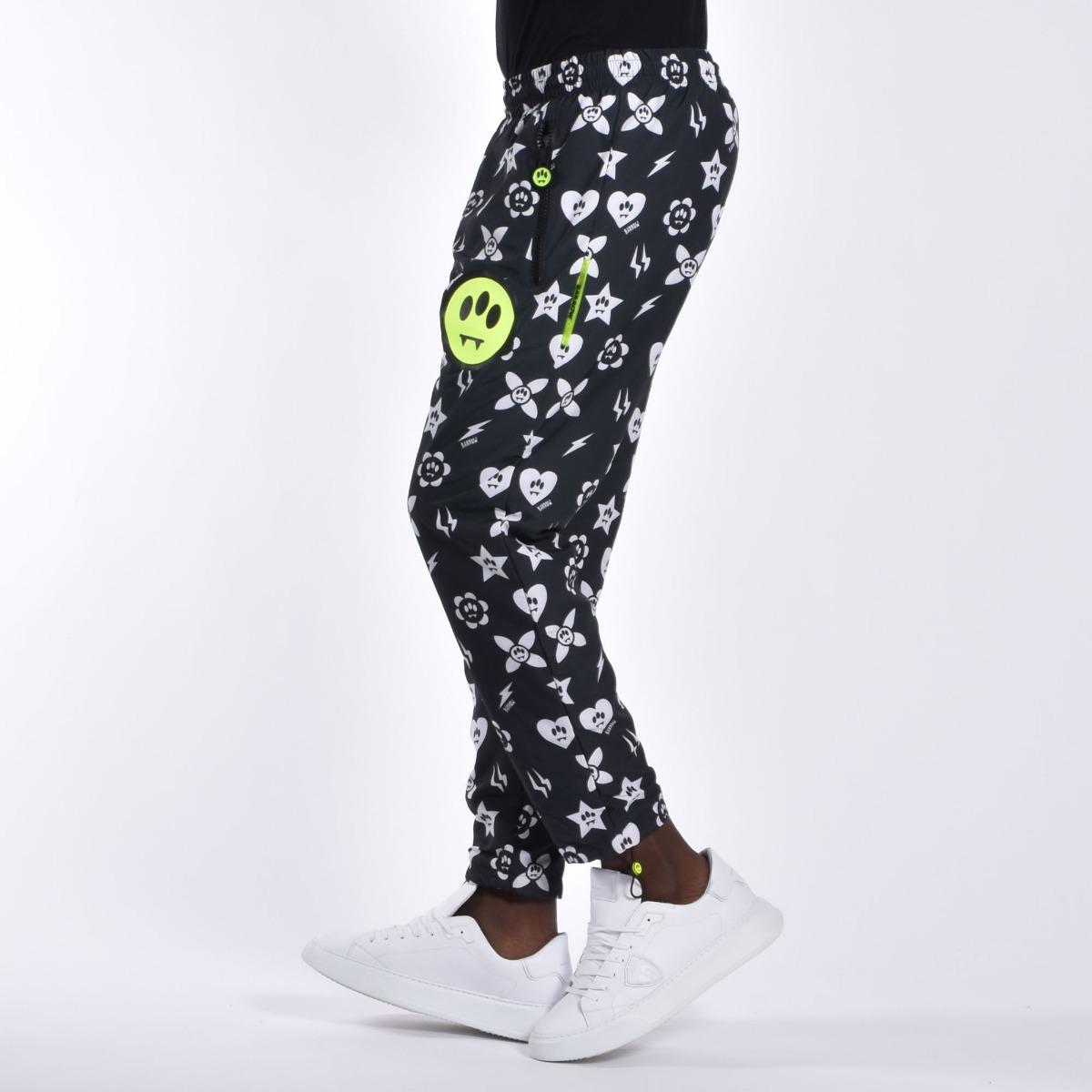 Pantalone symbols- Nero
