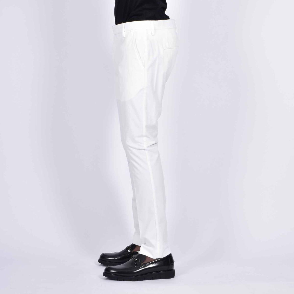Pantalone tasca america- Bianco