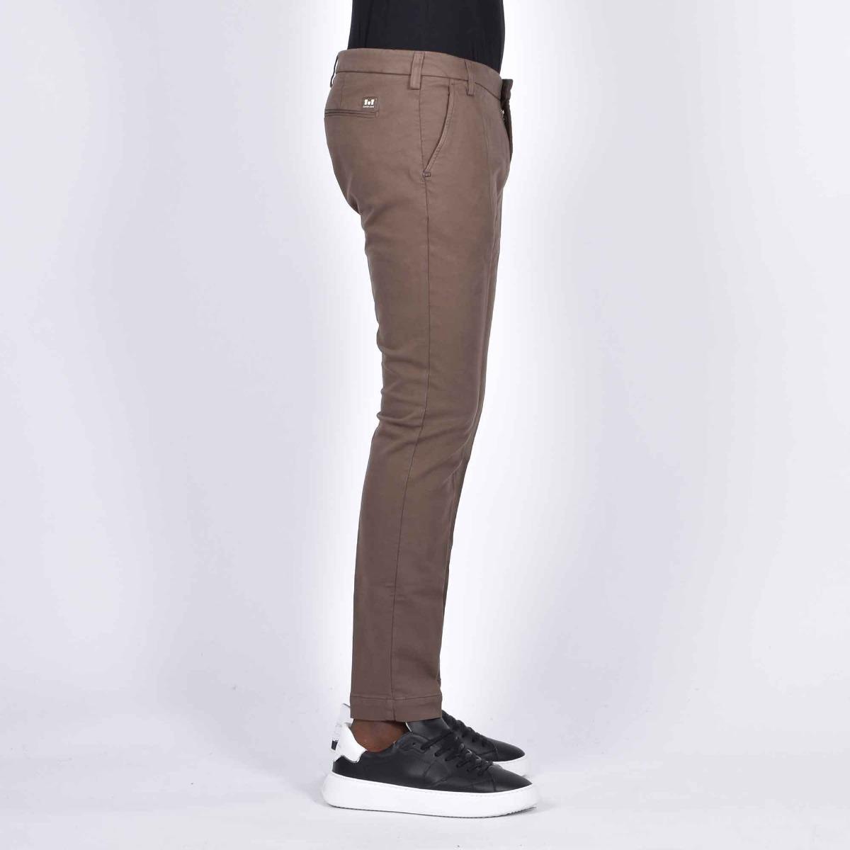 Pantalone tasca america - Marrone chiaro