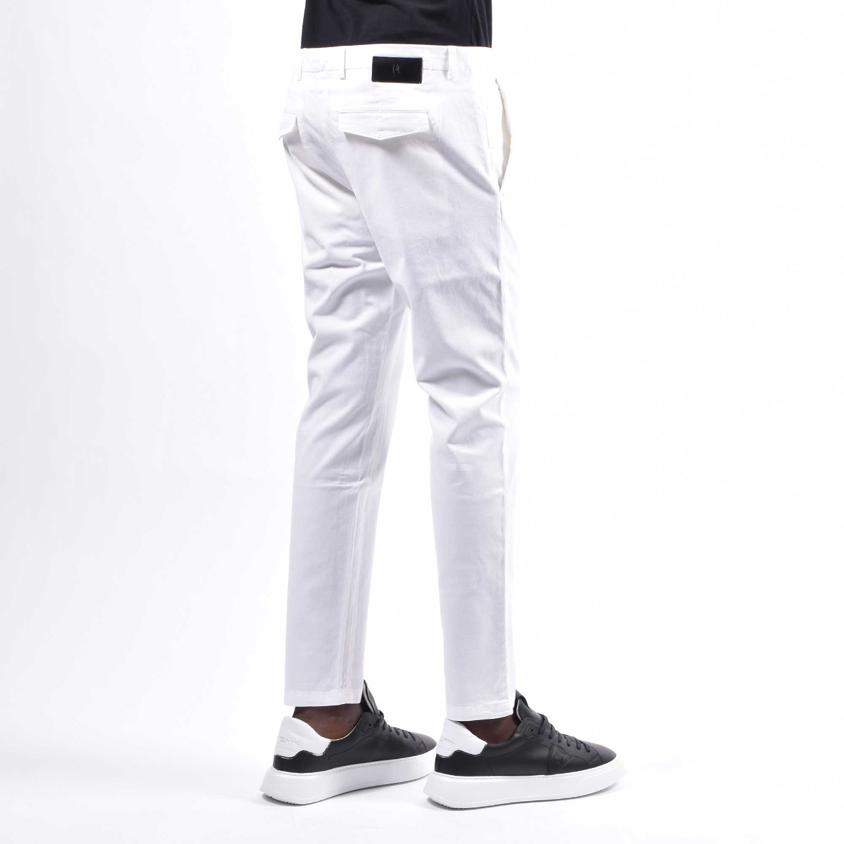 Pantalone tasca america pt - Bianco