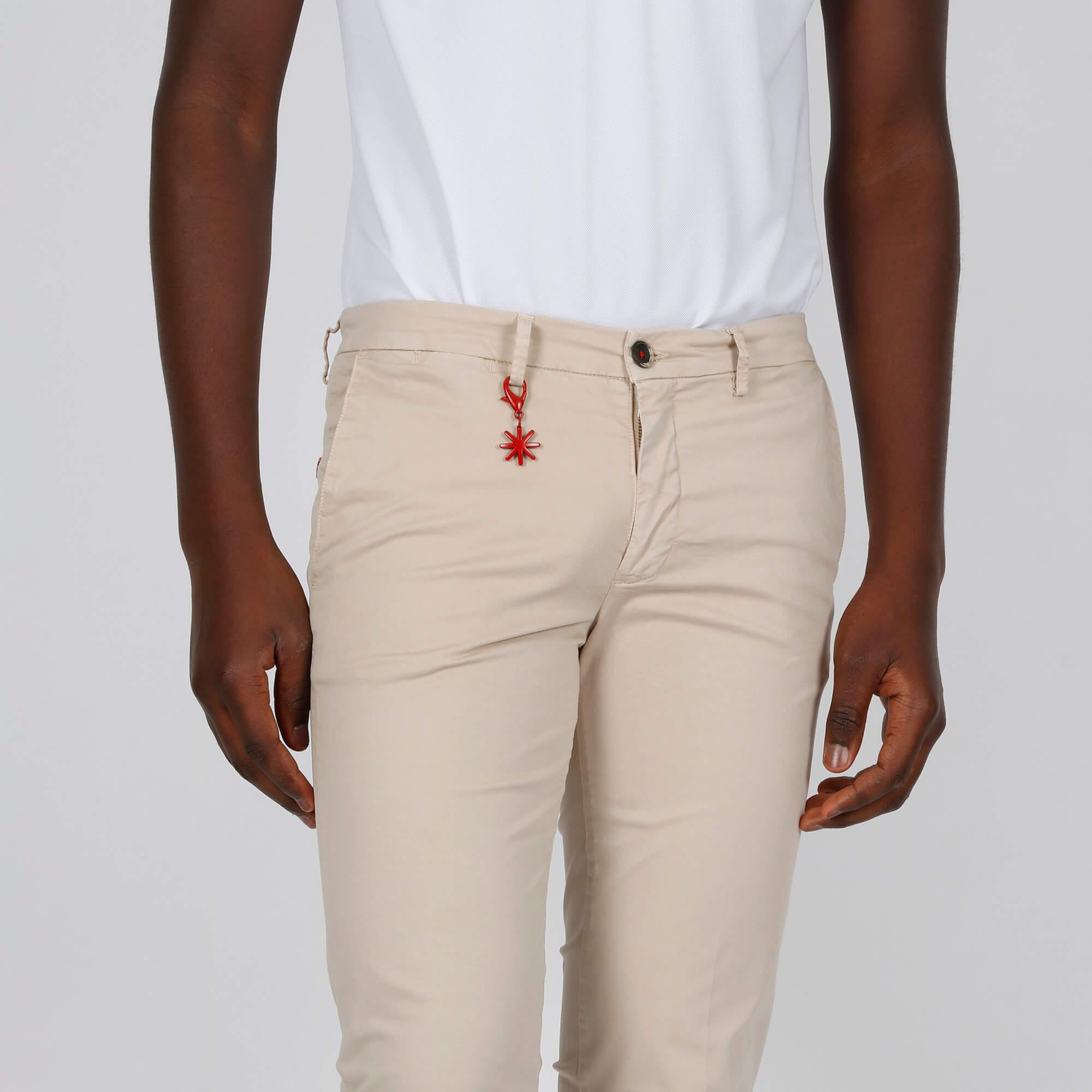 Pantalone tasca america - Beige