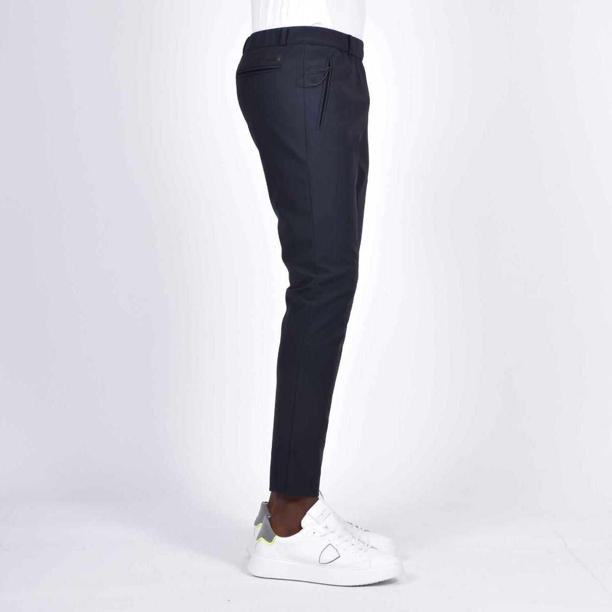 Pantalone tessuto tecnico- Blu