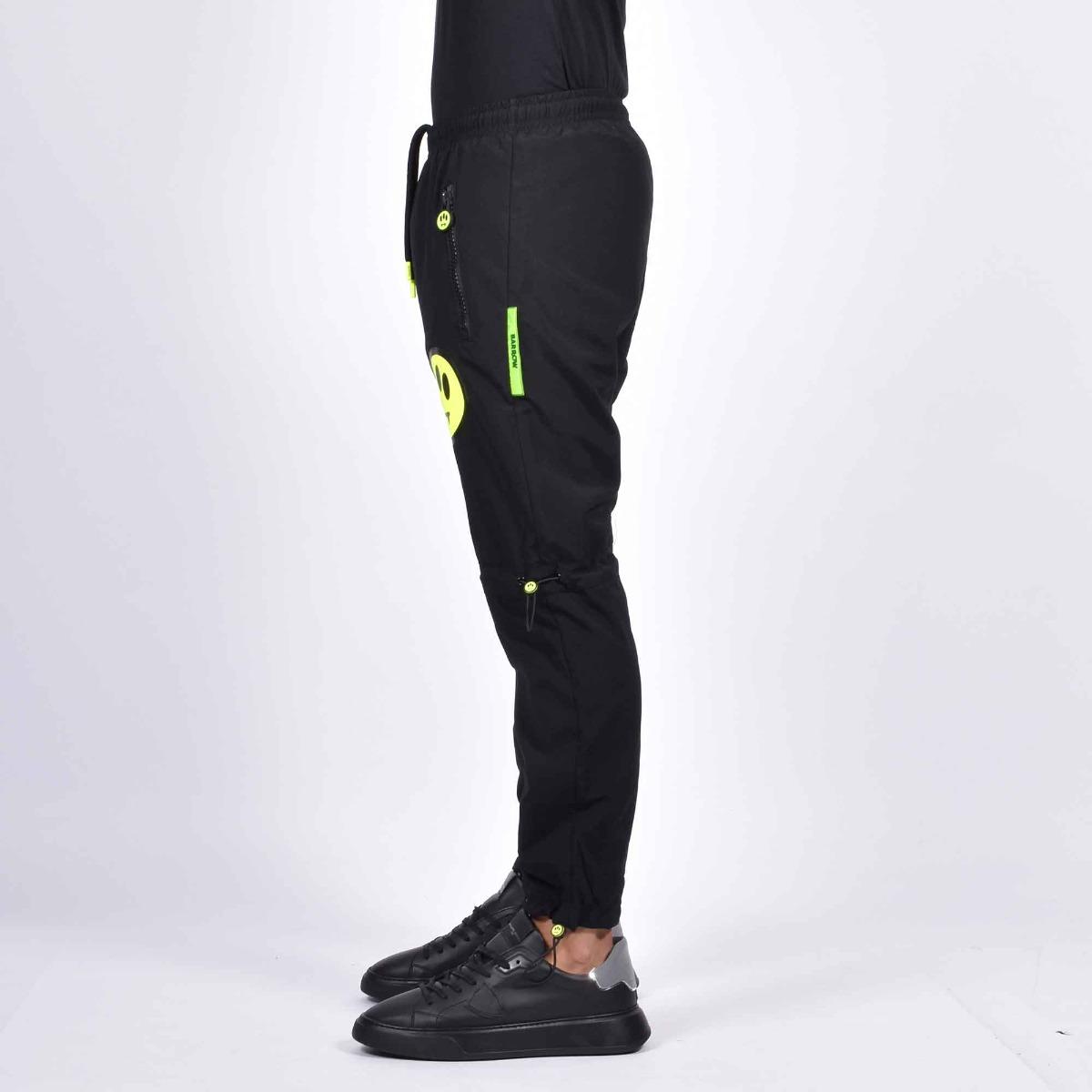 Pantalone inserto alien fluo - Nero