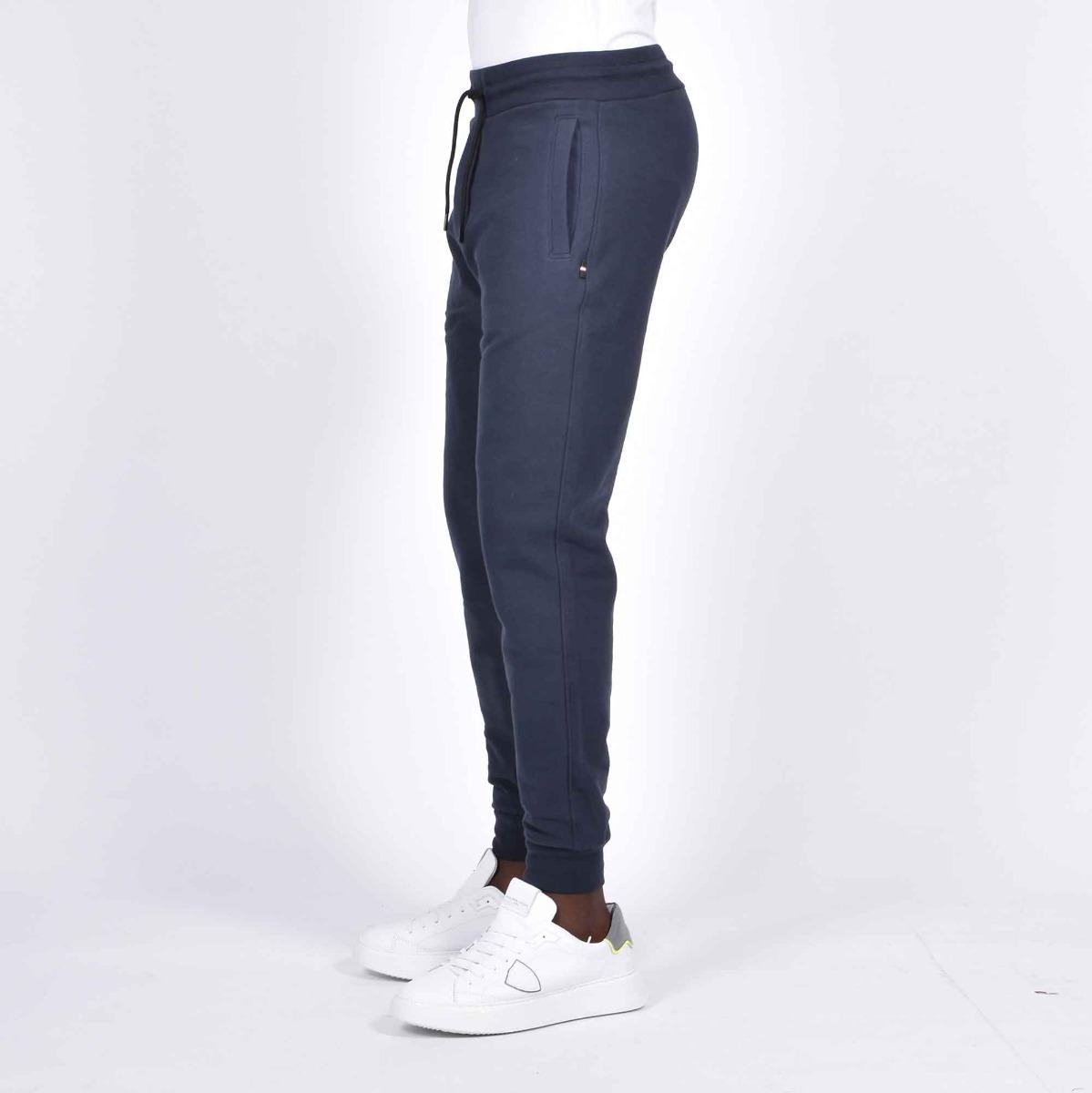 Pantalone felpa aquila - Blu navy