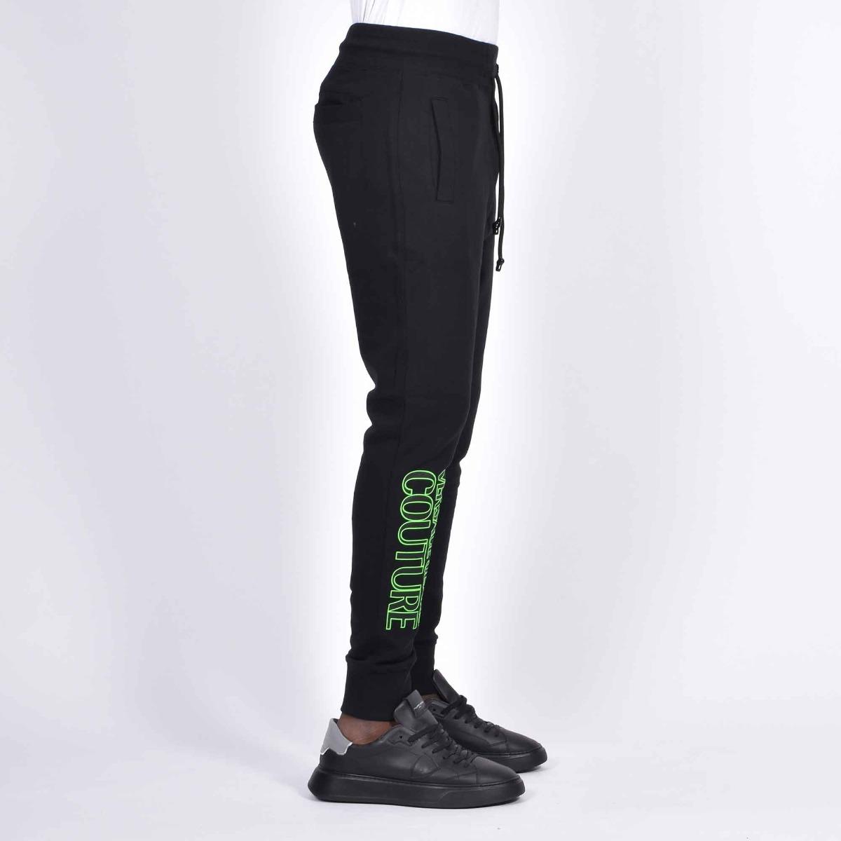 Pantalone tuta logo- Nero