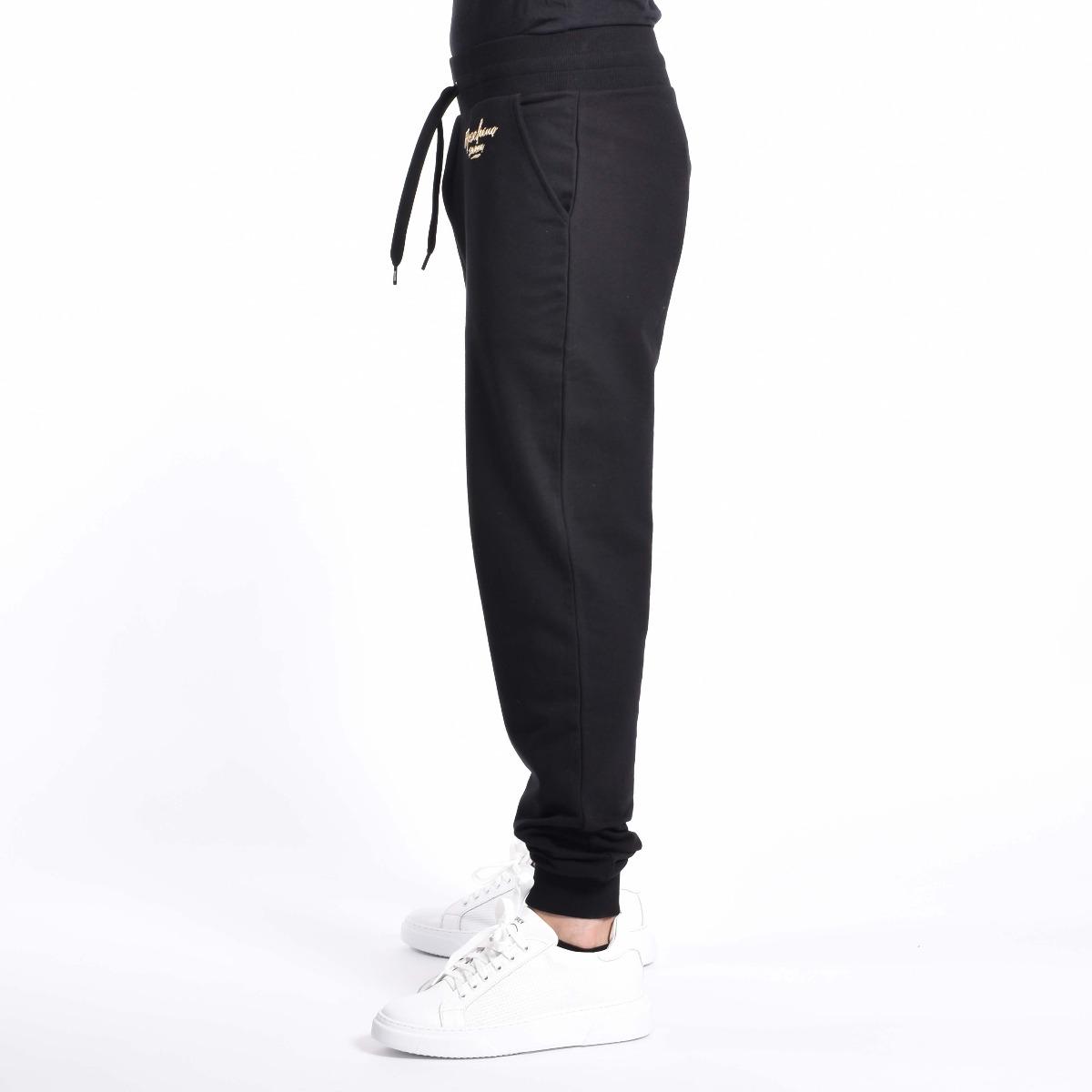 Pantalone felpa logo swim - Nero