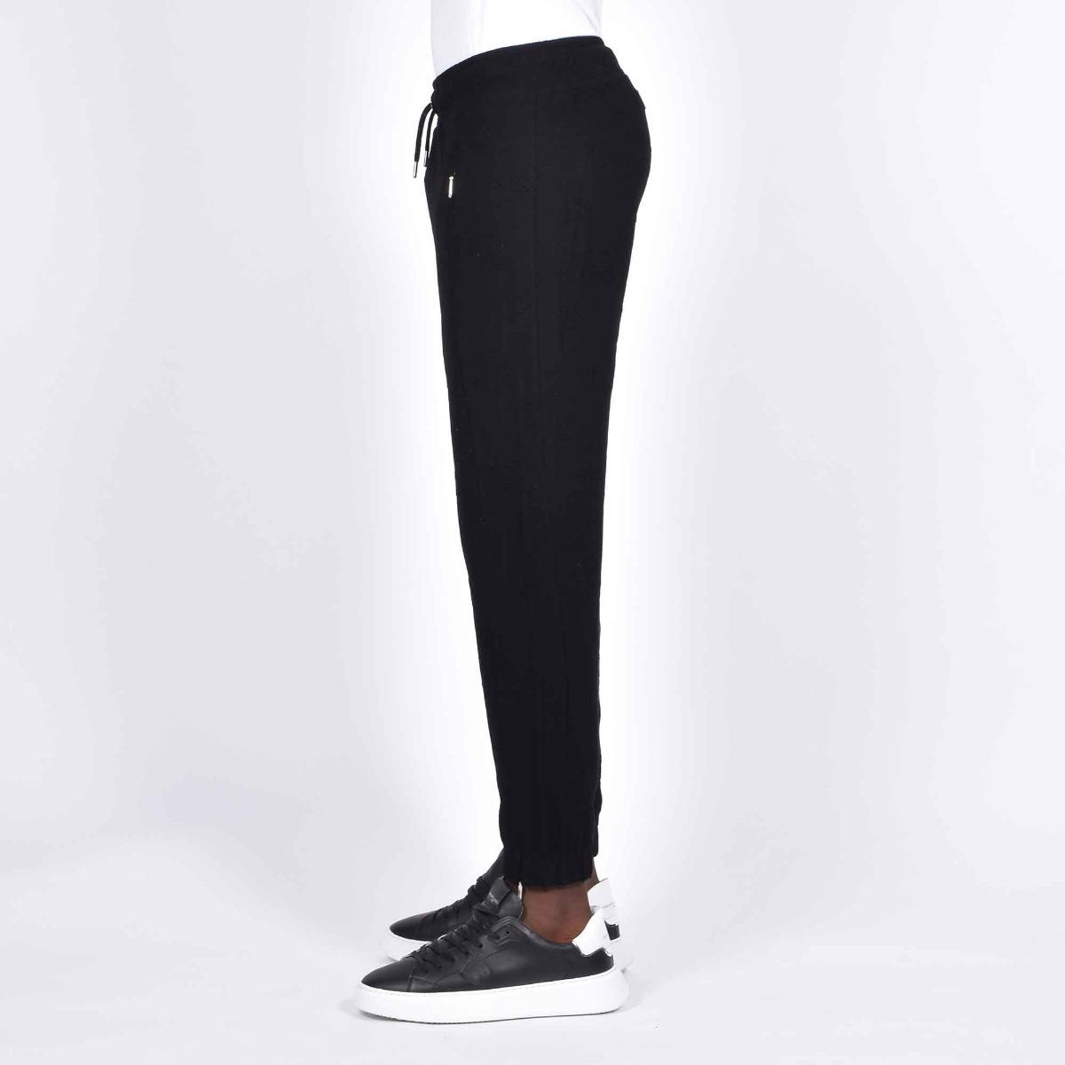 Pantalone tuta susuq- Nero