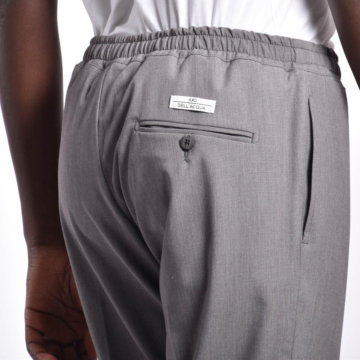 Pantalone vita elasticizzata - Grigio