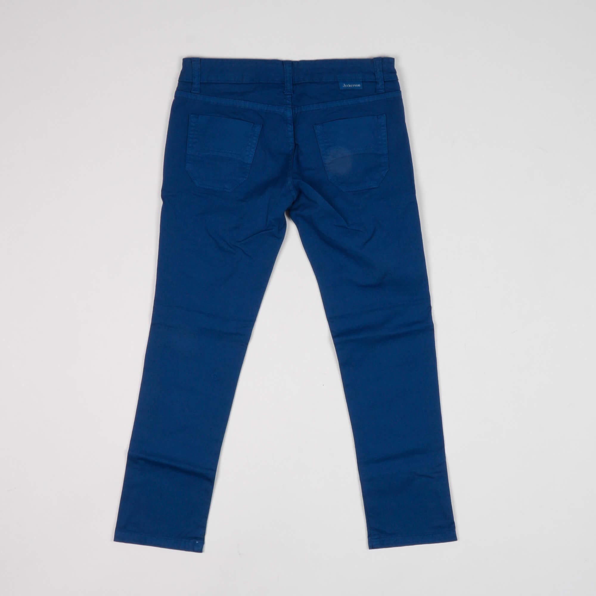 Pantalone  con toppe - Blu Royal