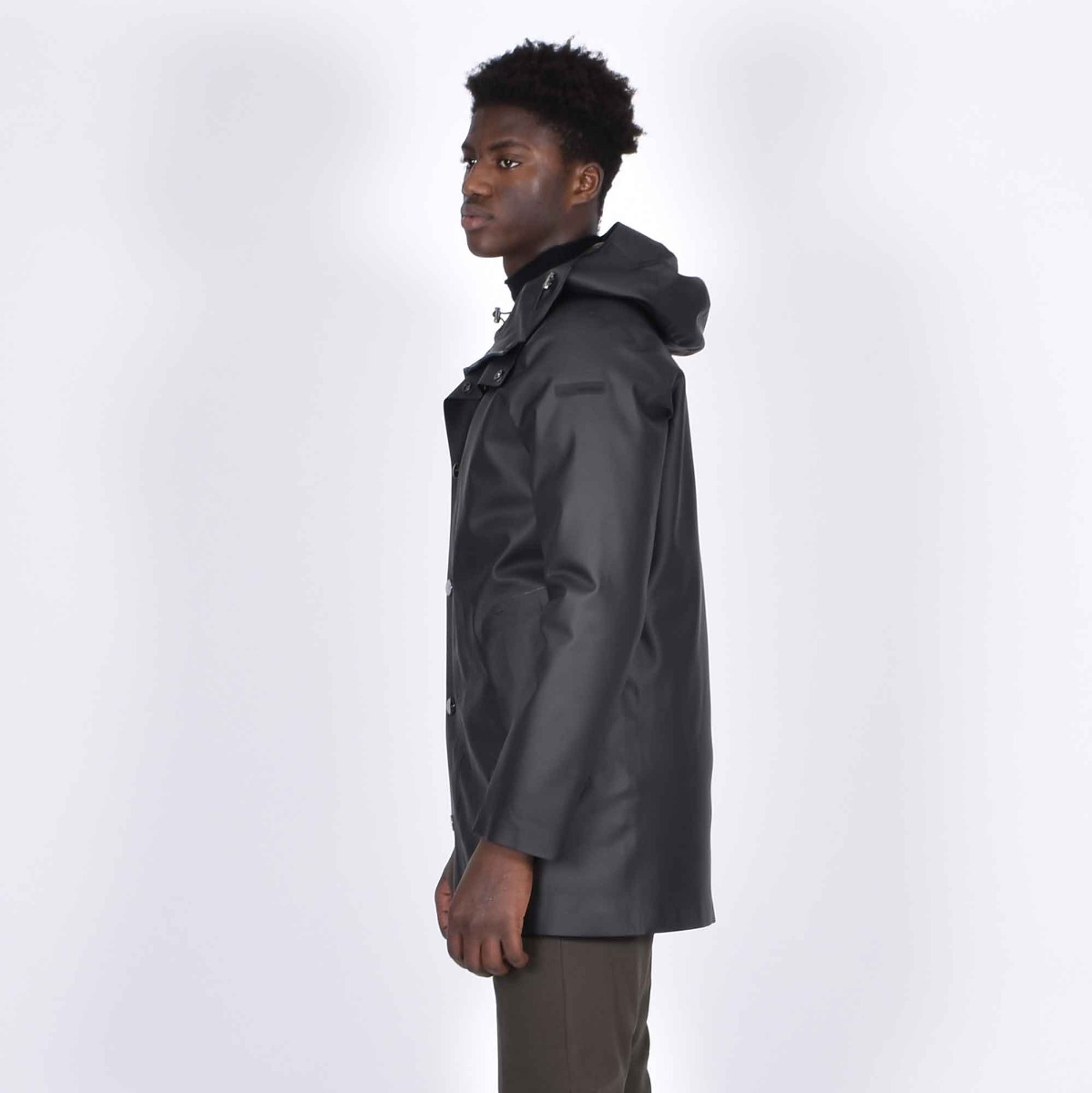 Parka double rubber - Nero