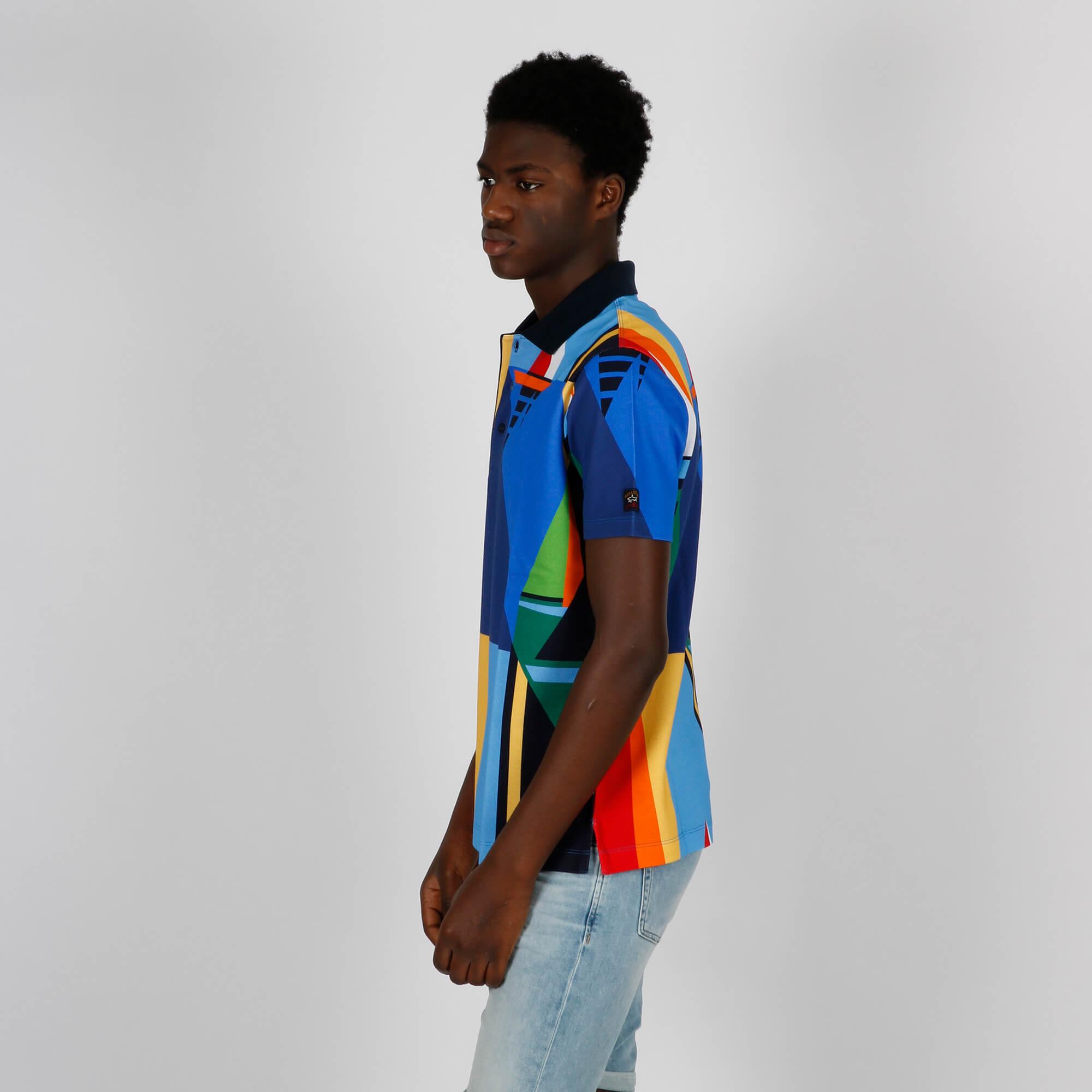 Polo fantasia all over - Multicolor