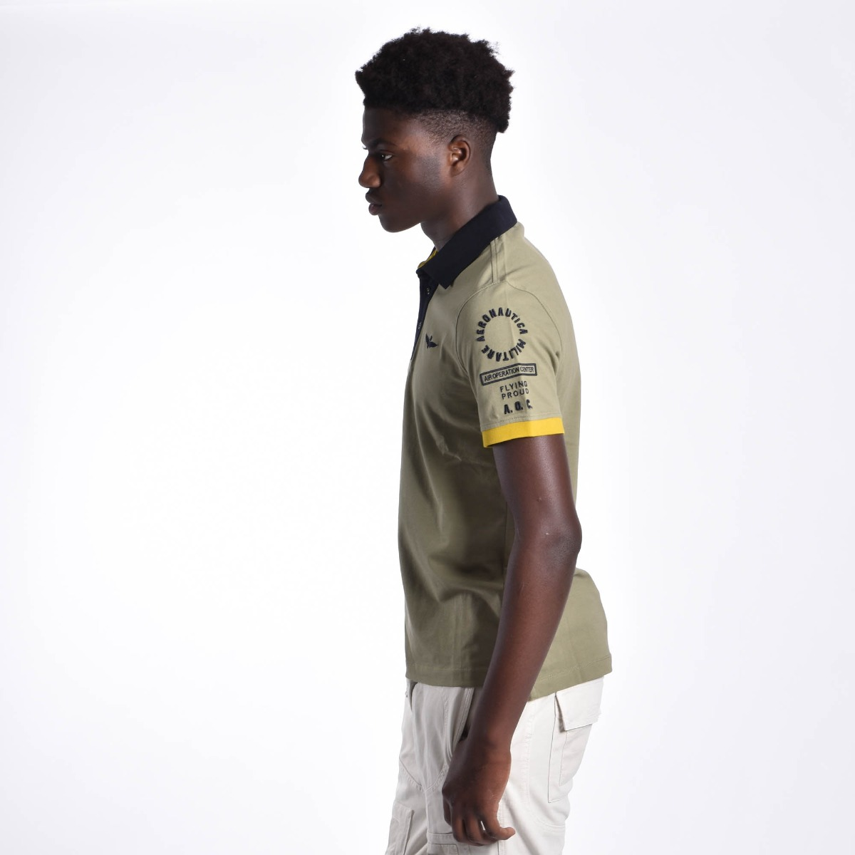 Polo flying proud - Verde