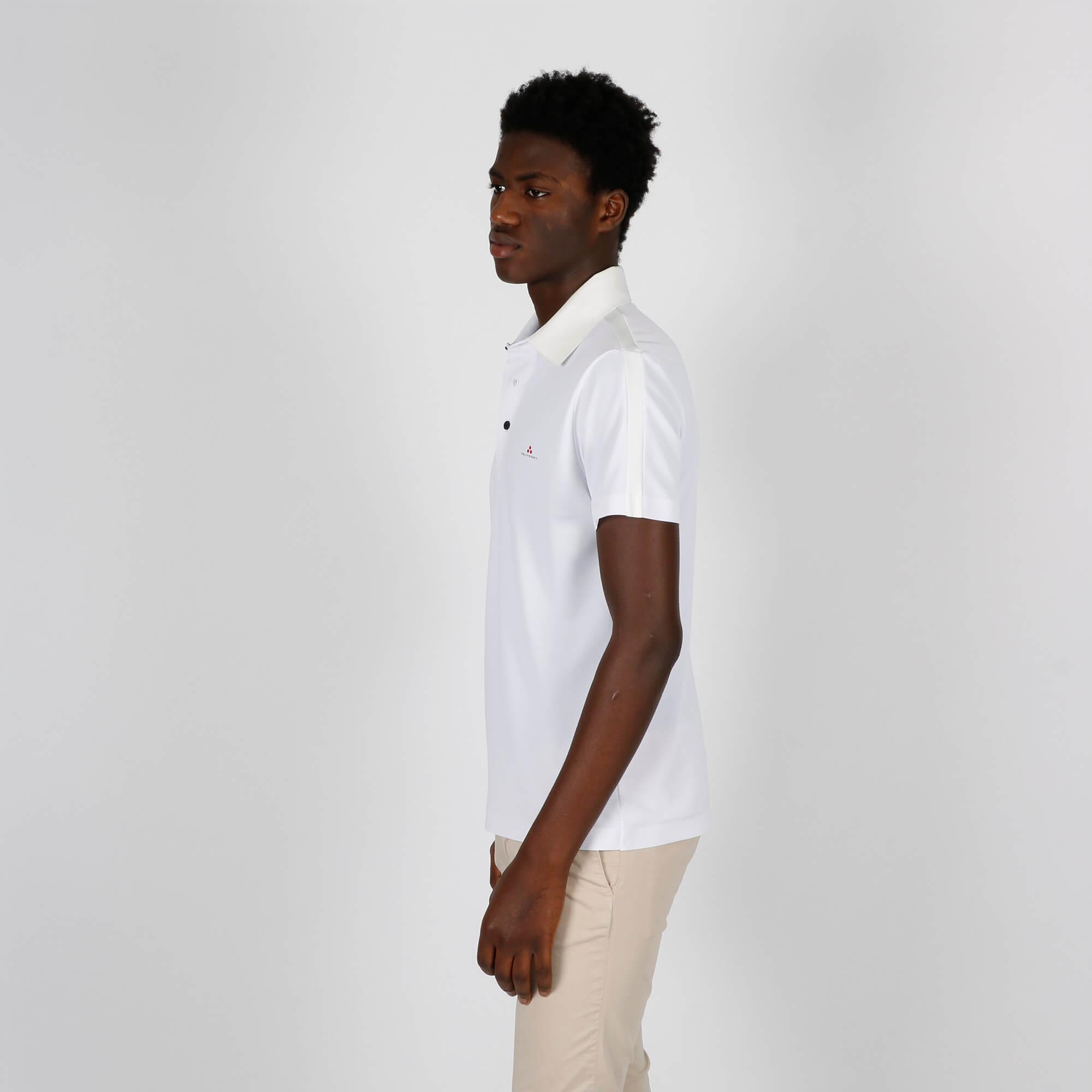 Polo piquet tecnico - Bianco