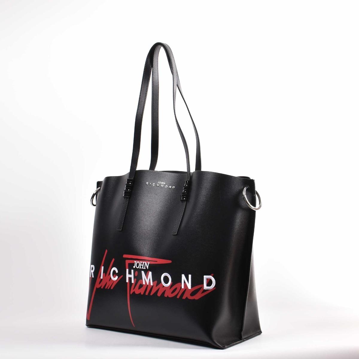 Shopping bag kalispil- Nero/ Rosso