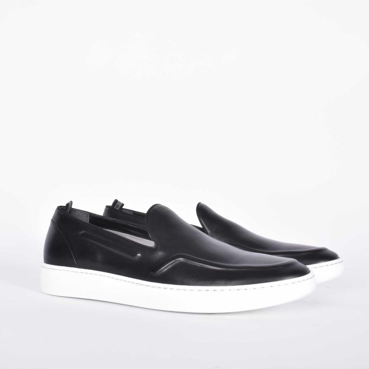 Sneakers slip on - Nero