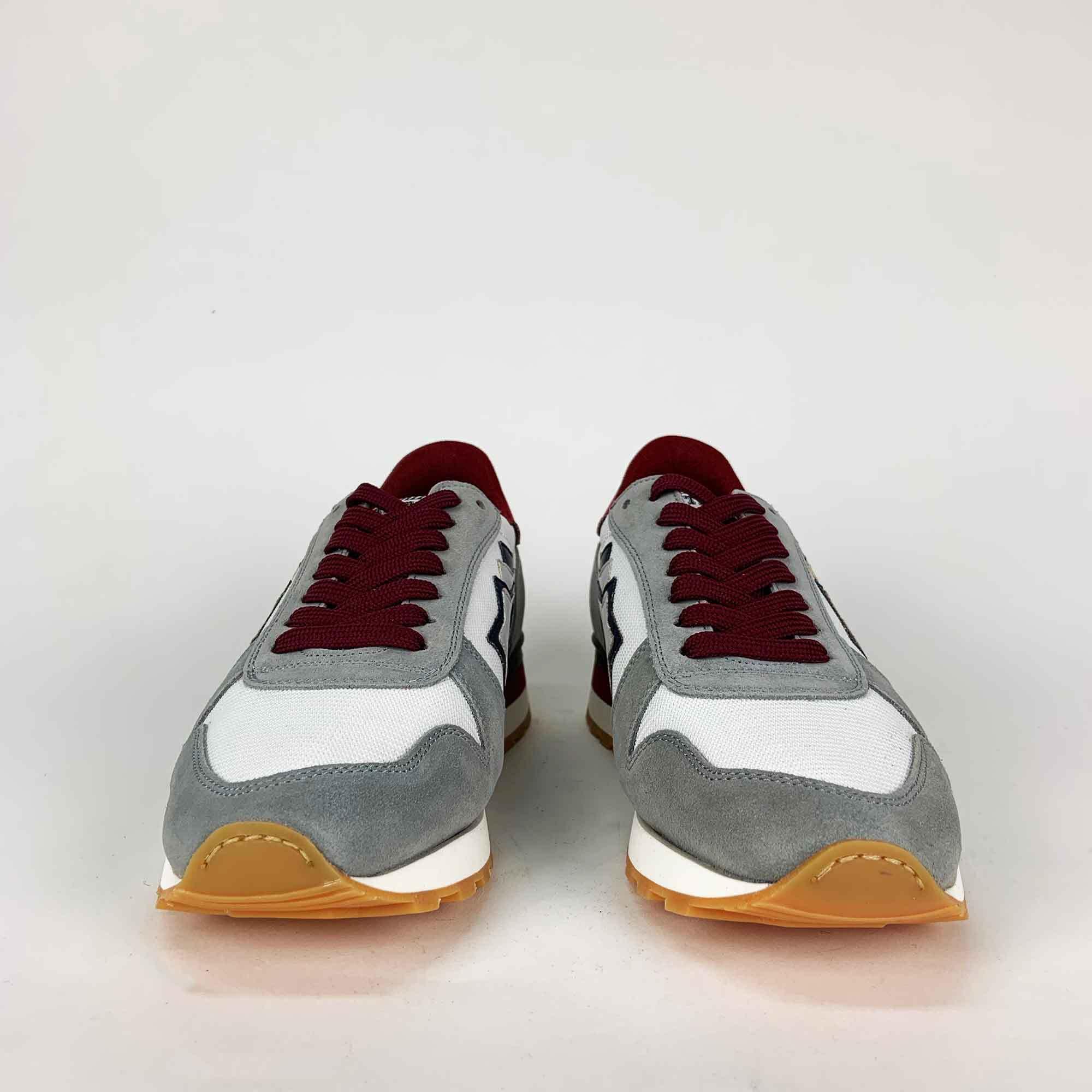 Sneakers argo - Grigio/bordeaux