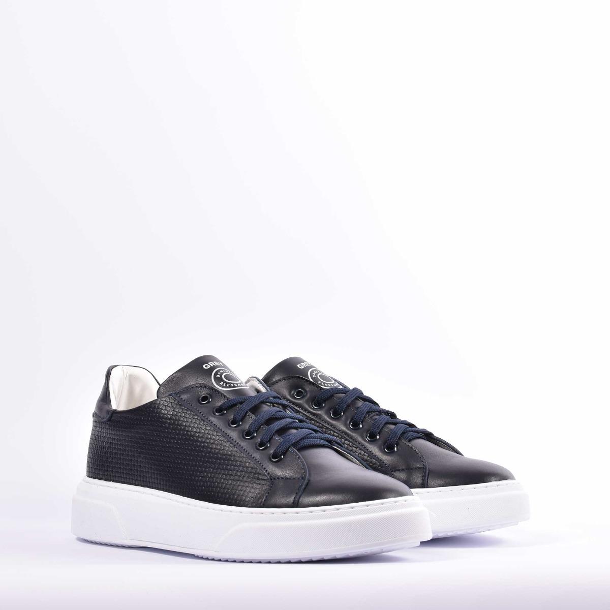 Sneakers ginnica bassa- Blu