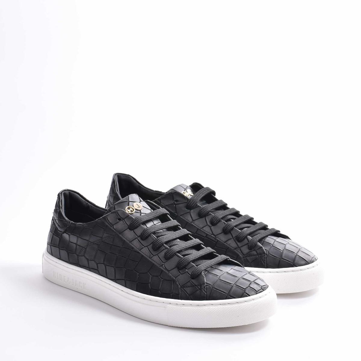 Sneakers essence croco - Nero
