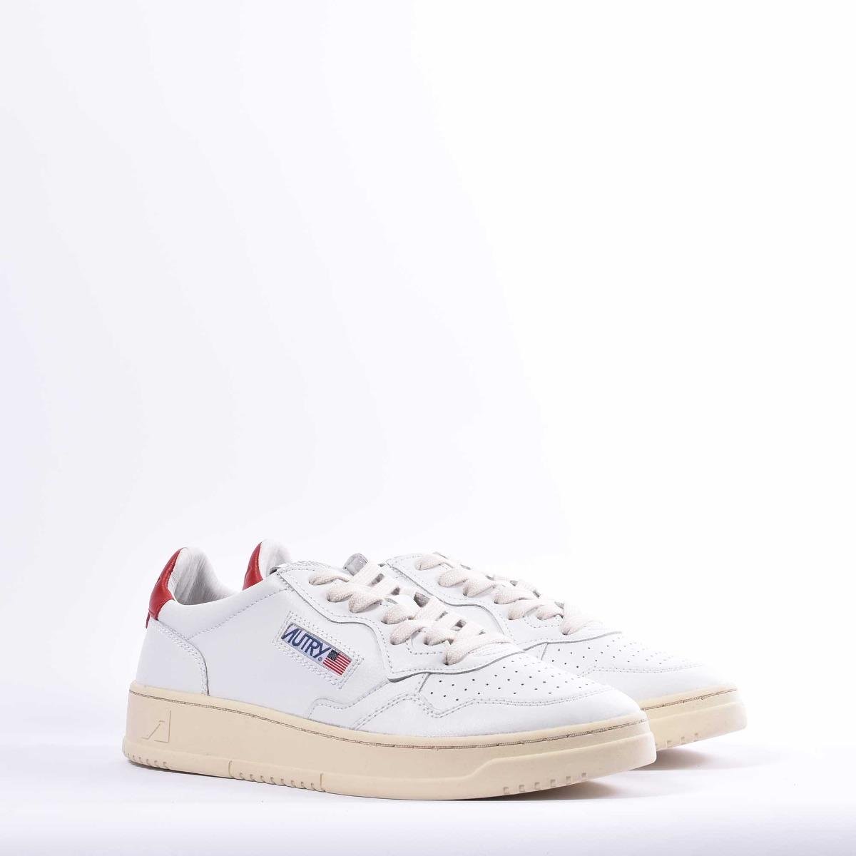 Sneaker low - Bianco/ Rosso