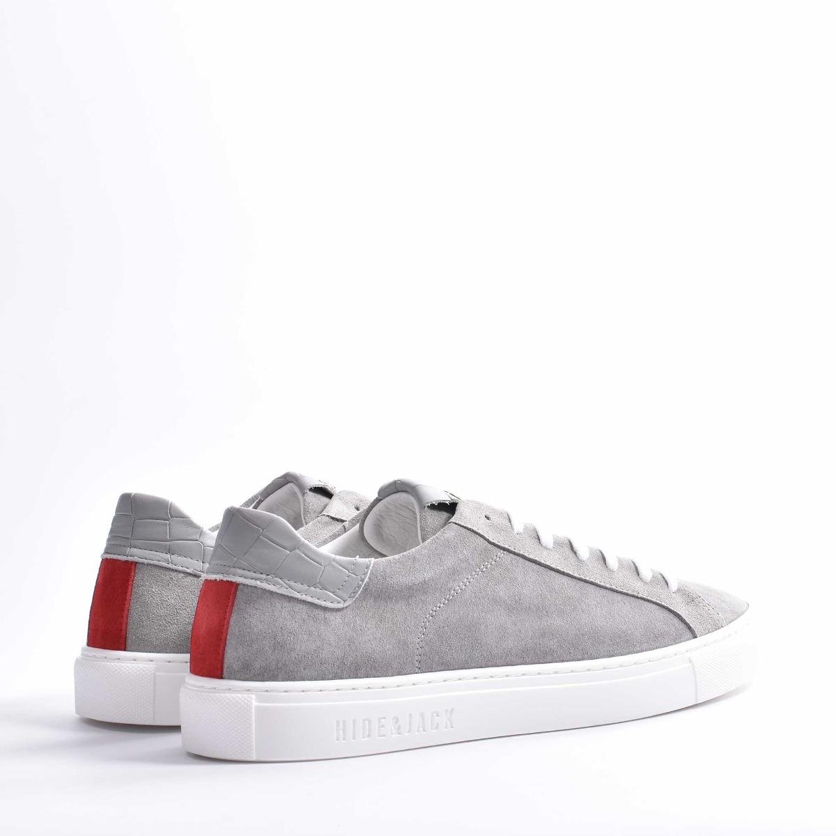 Sneakers oil grey - Grigio