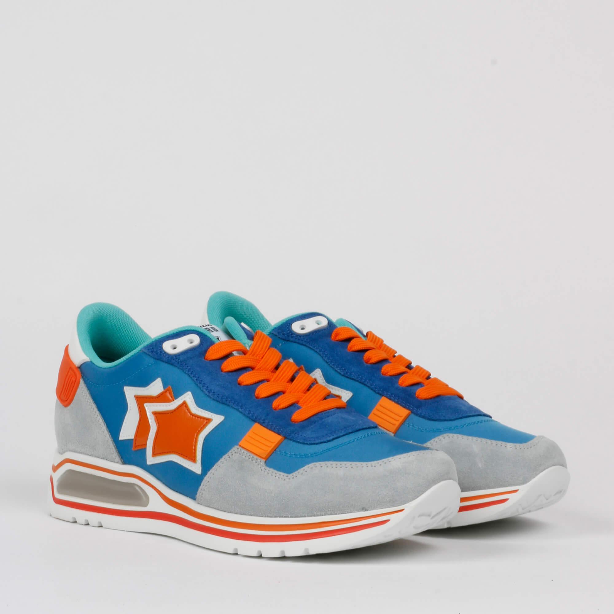 Sneakers pegasus - Grigio / Azzurro