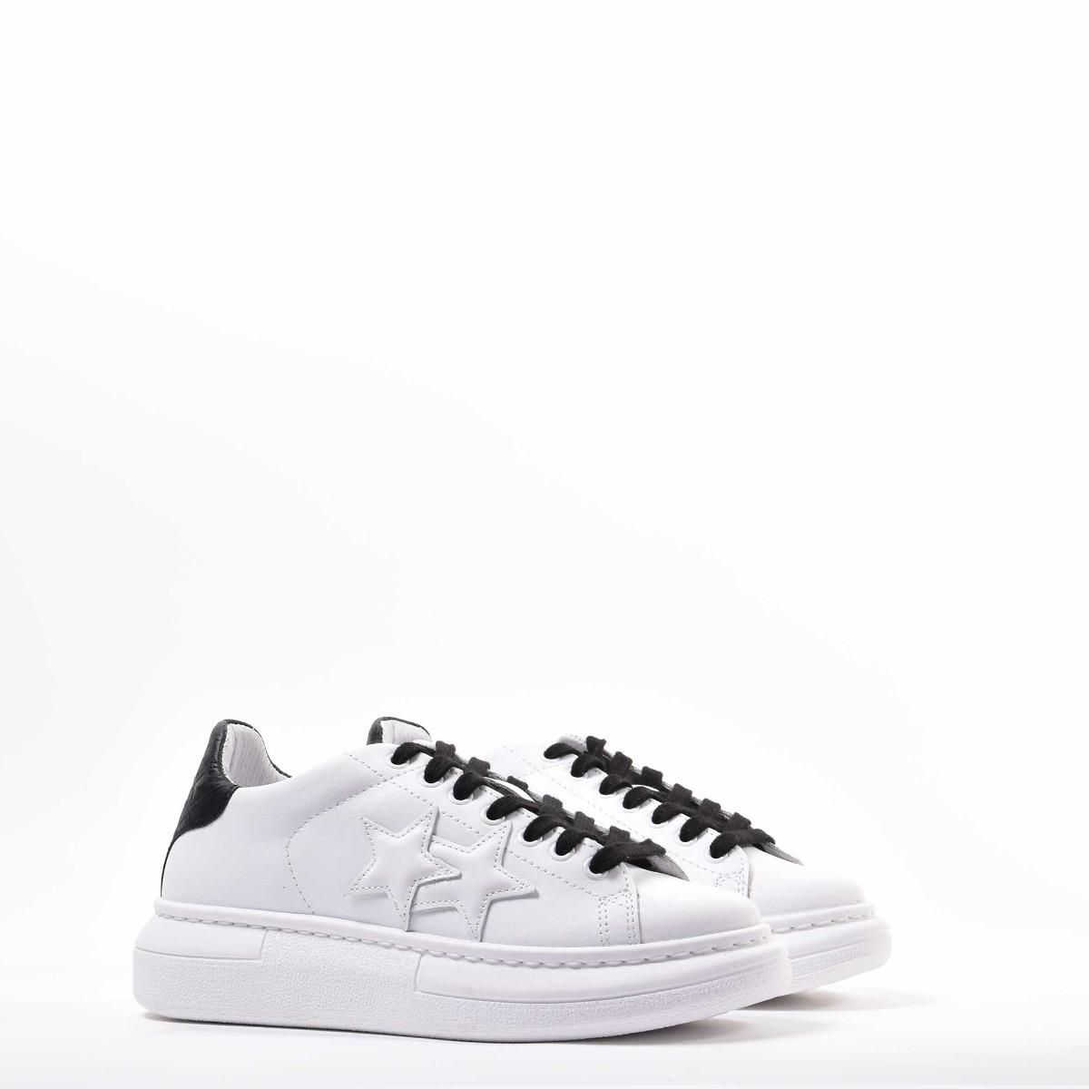 Sneakers princess - Bianco/nero