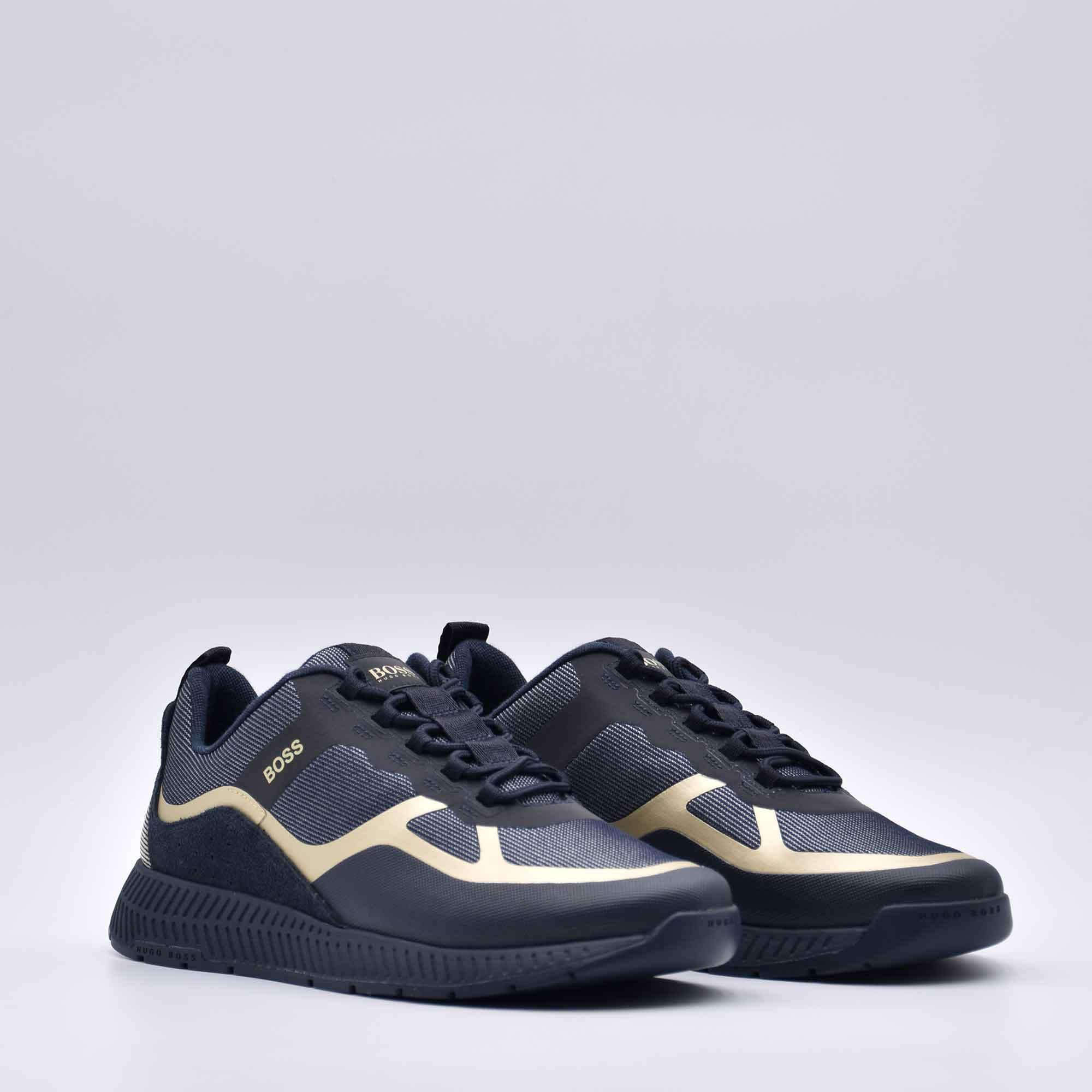 Sneakers titanium runn ibrida - Blu