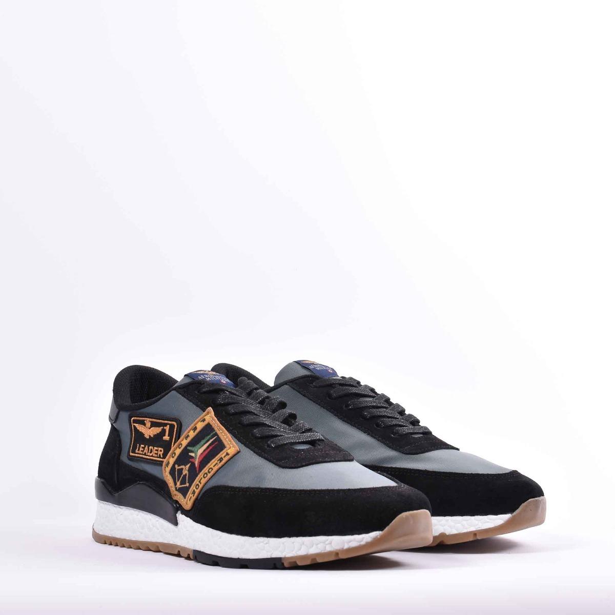 Sneakers tricolore - Nero