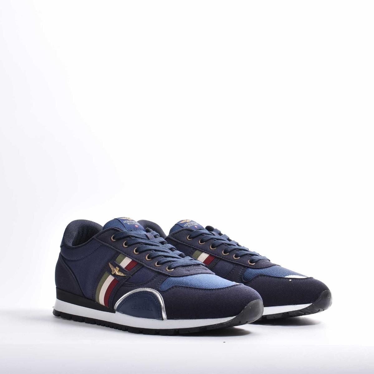 Sneakers aquila- Blu