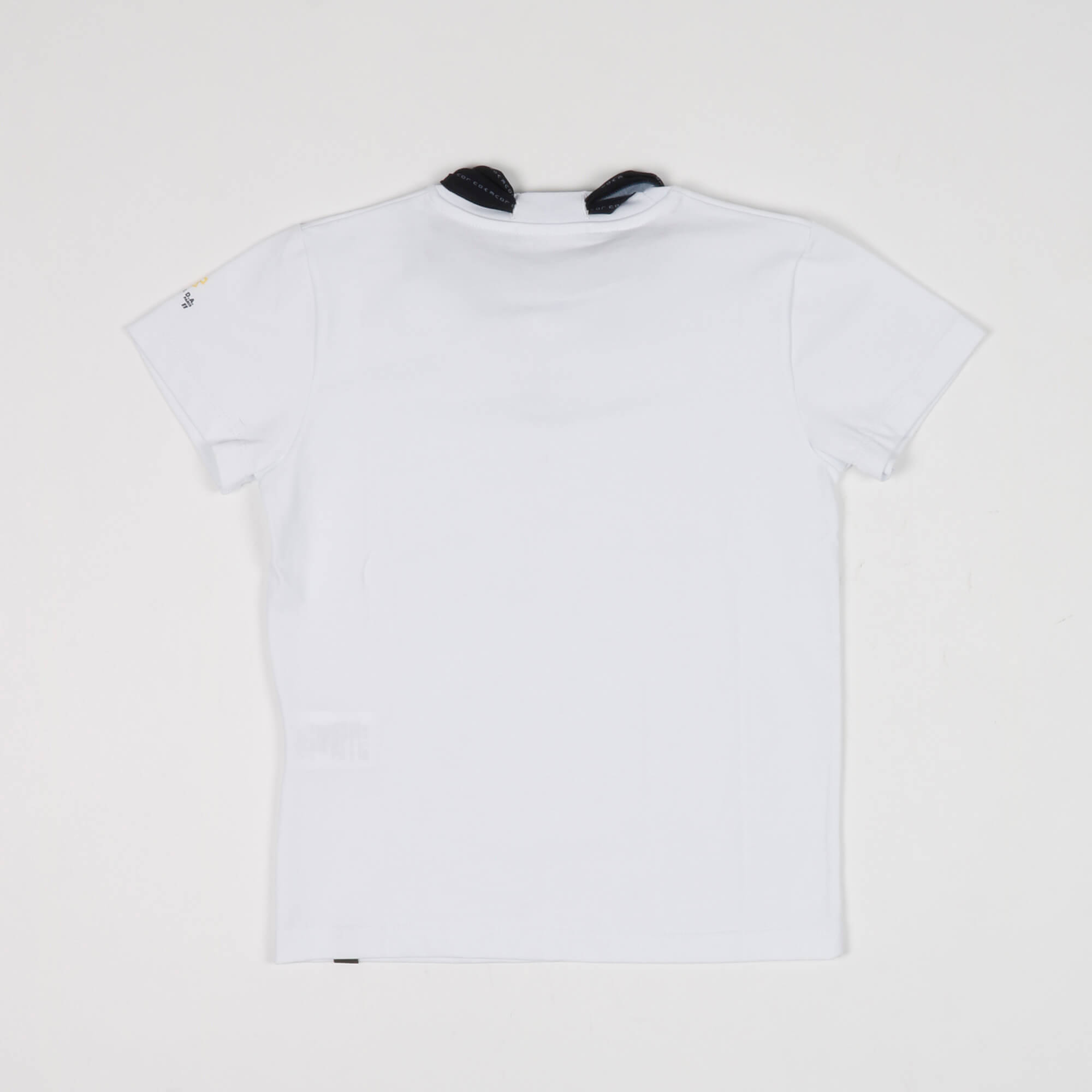 T-shirt nastro logo - Bianco
