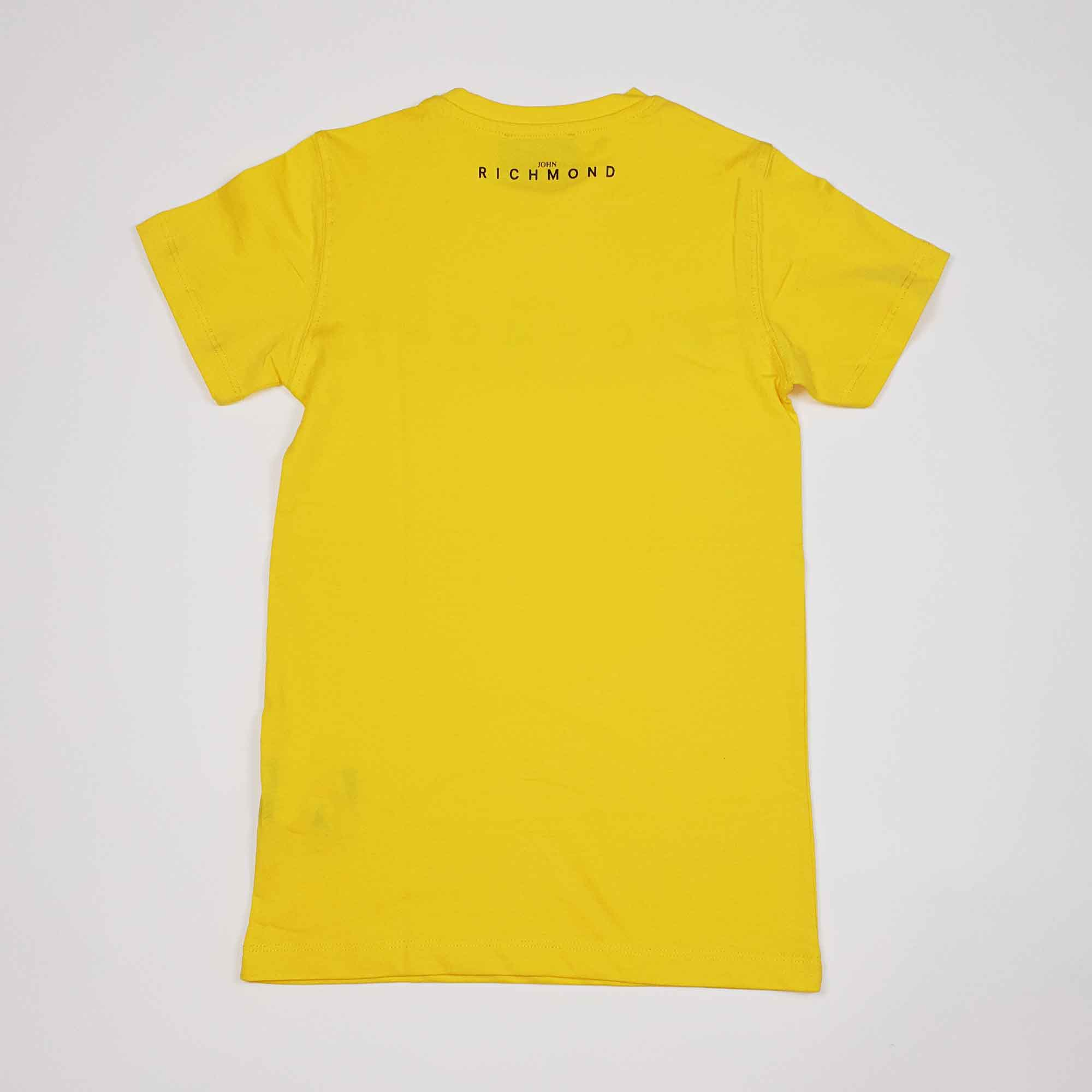 T-shirt rocha - Giallo