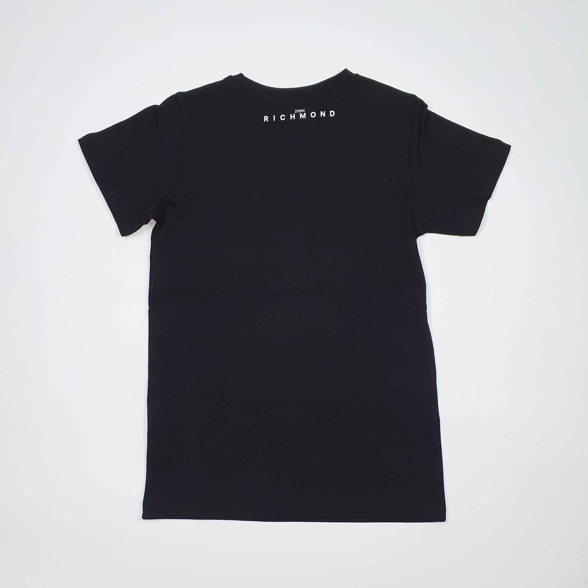 T-shirt rocha - Nero