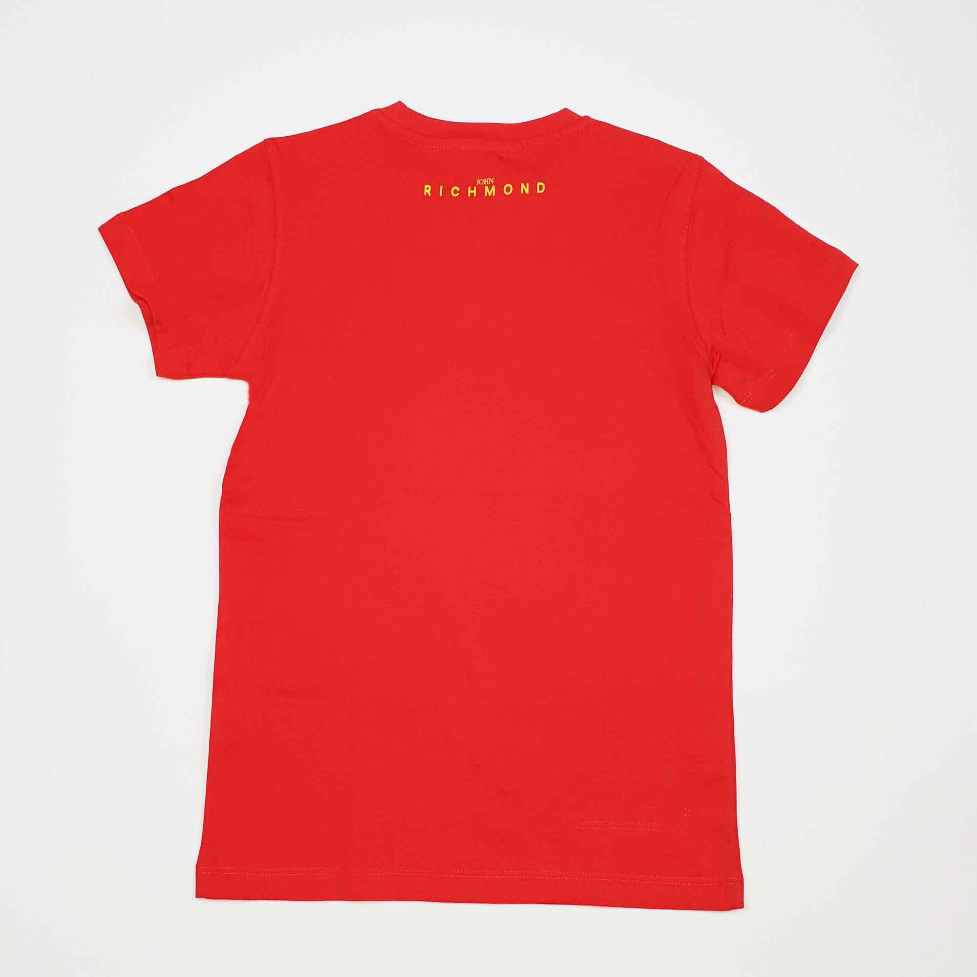 T-shirt rocha - Rosso